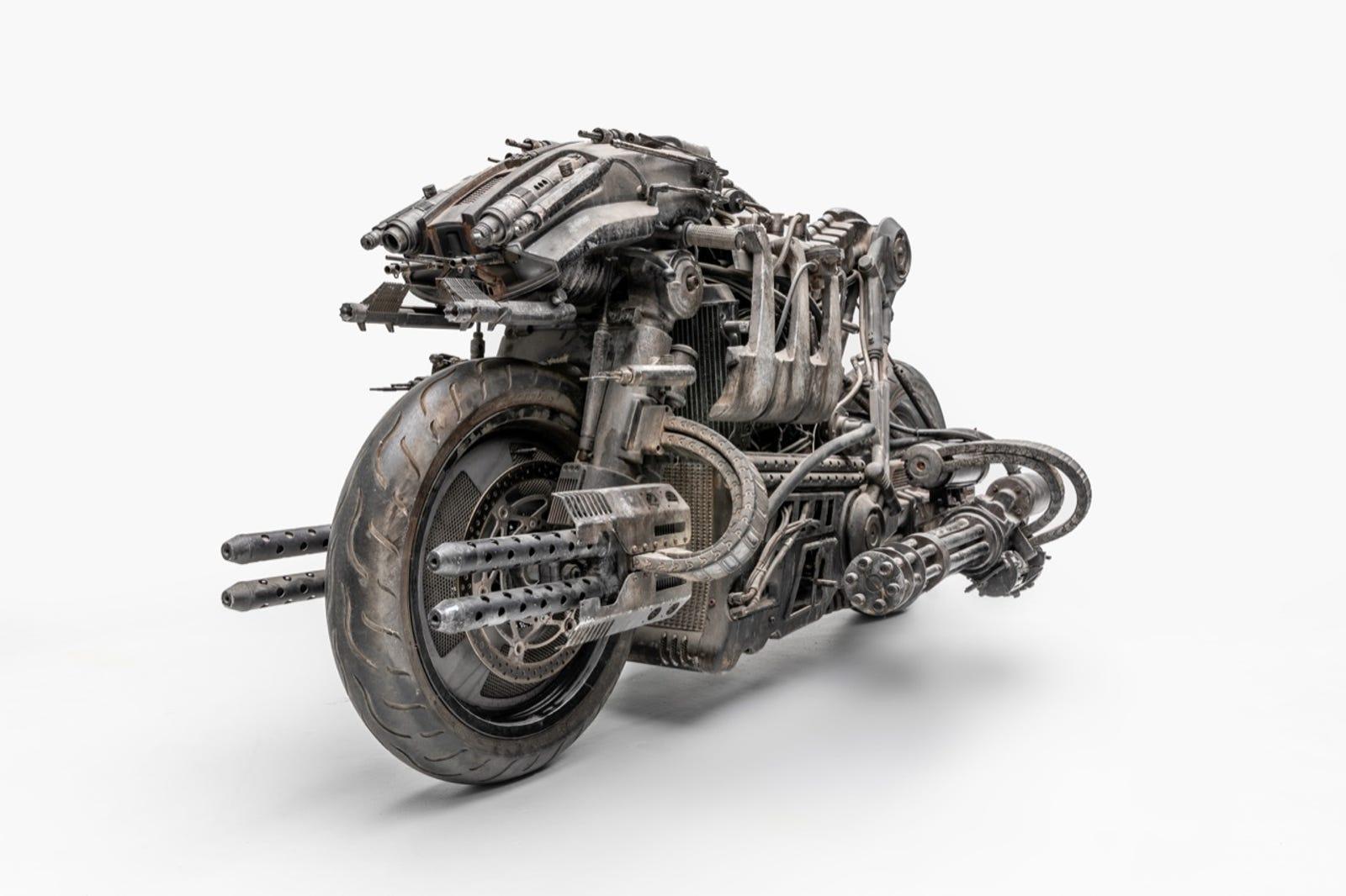 Skynet Moto-Terminator, ridden in Terminator Salvation (2009) Designer: Martin Laing and Victor Martinez