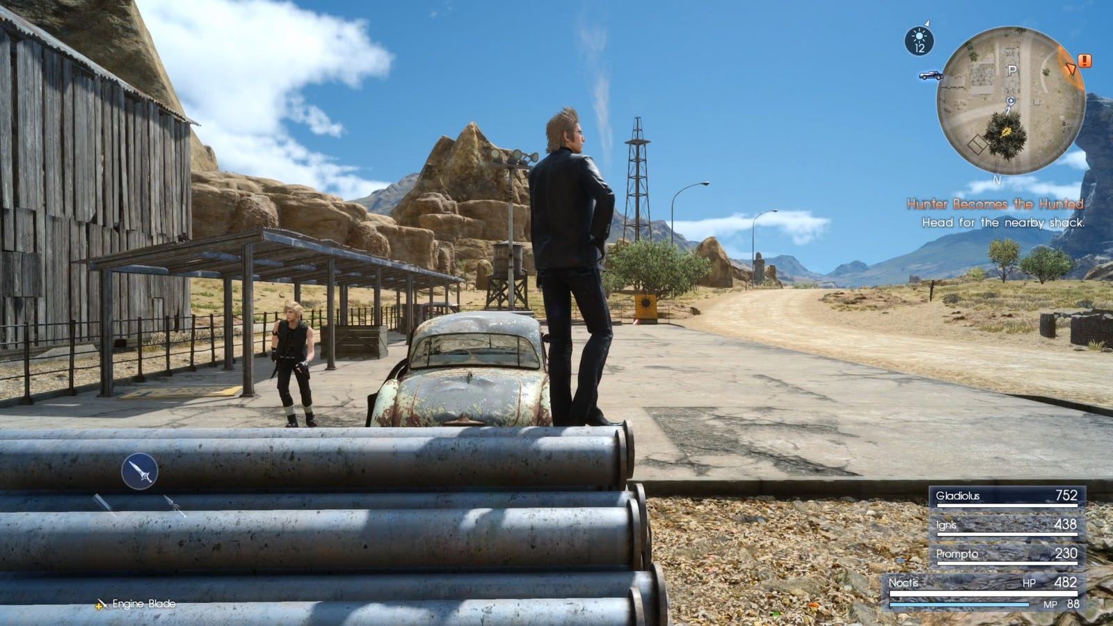 Get down from there, Ignis.