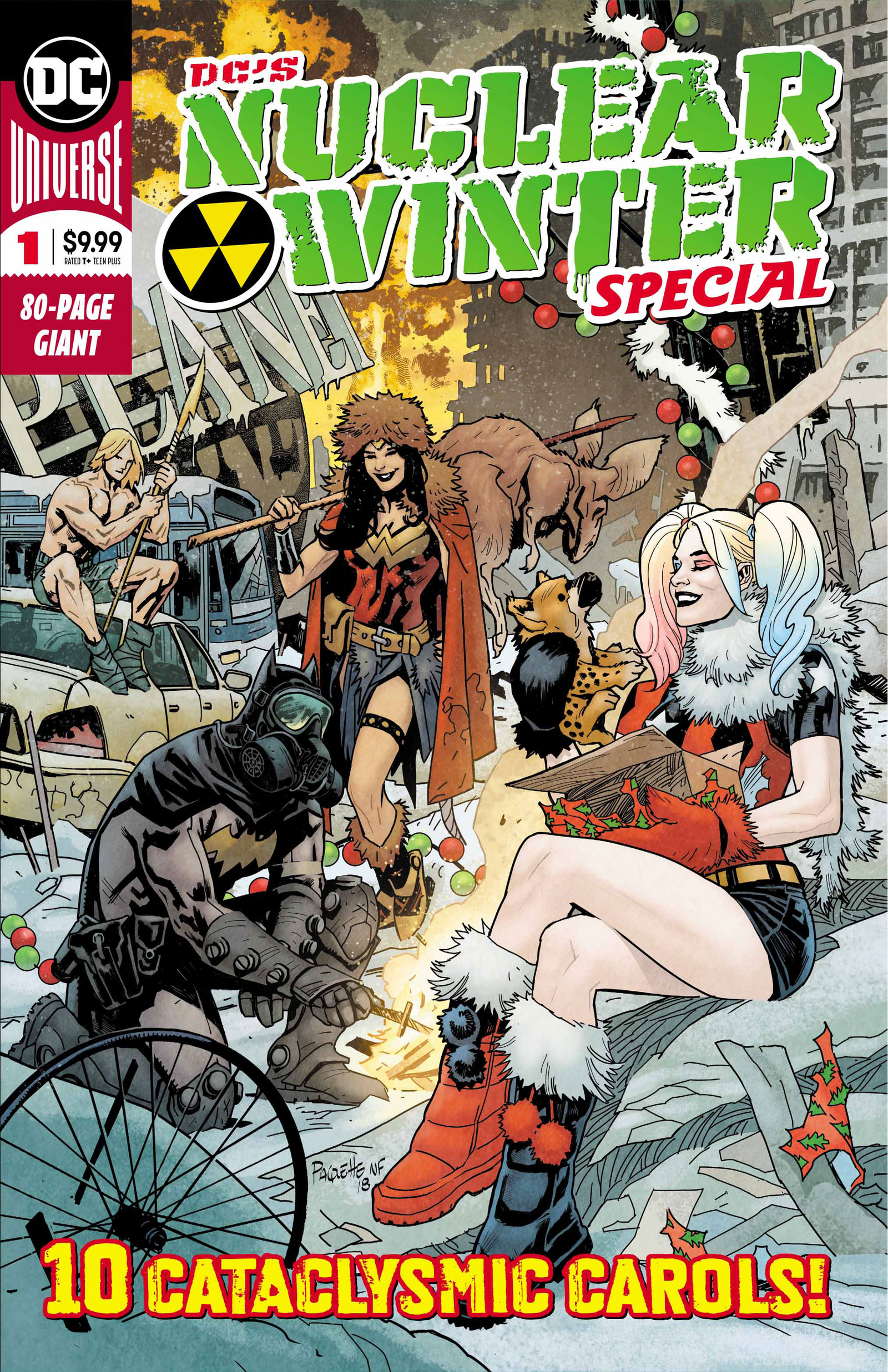Cover by Yanick Paquette and Nathan Fairbairn