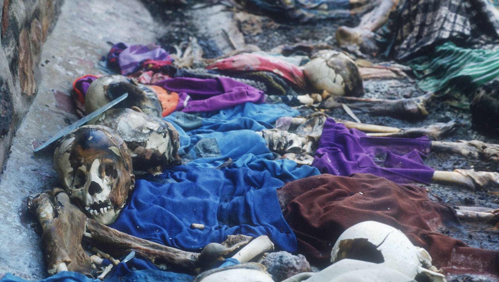 Rwandan genocide: OMG, this takes us WAY back. Way back to the '90s, that is!