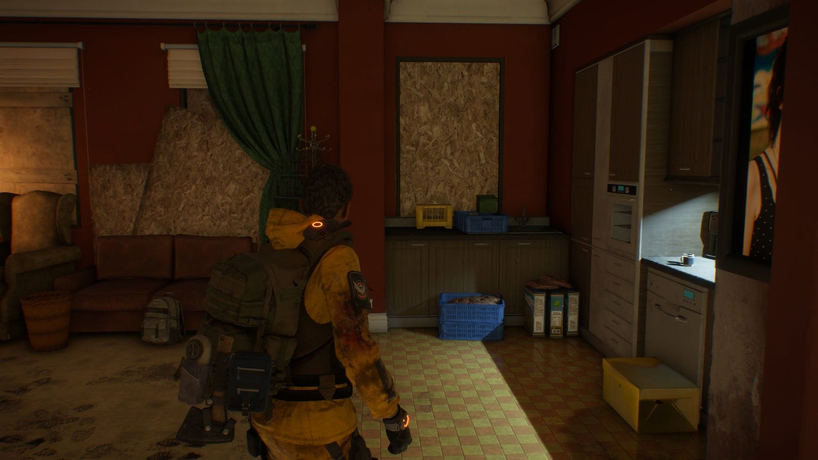 Starting off in The Division's Survival DLC with literally the clothes on my back and a pistol.