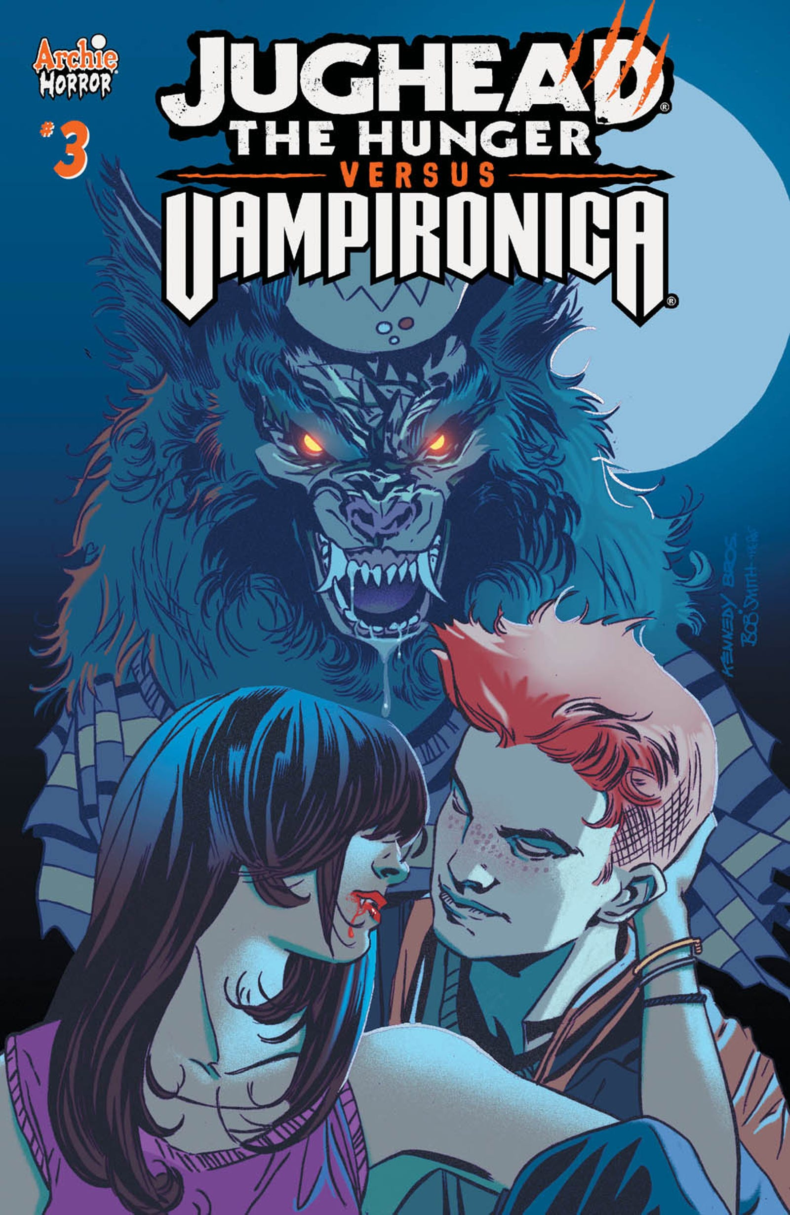 Illustration for article titled A Game-Changing Look Inside the Next Issue of iJughead: The Hunger vs. Vampironica/i