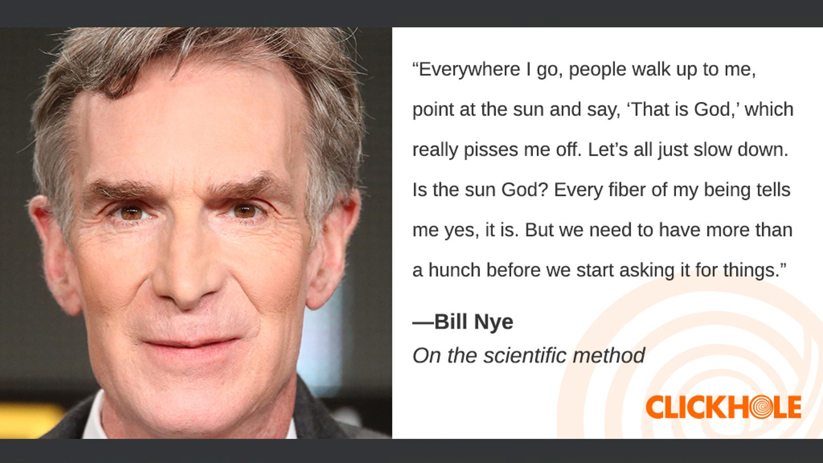 Illustration for article titled Find Out What Bill Nye, Buzz Aldrin, Miles Teller, And More Have To Say