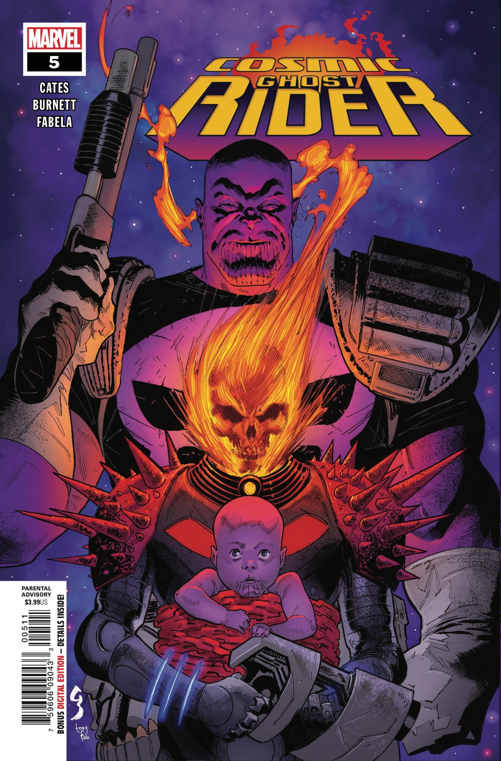 Cover by Geoff Shaw and Antonio Fabela