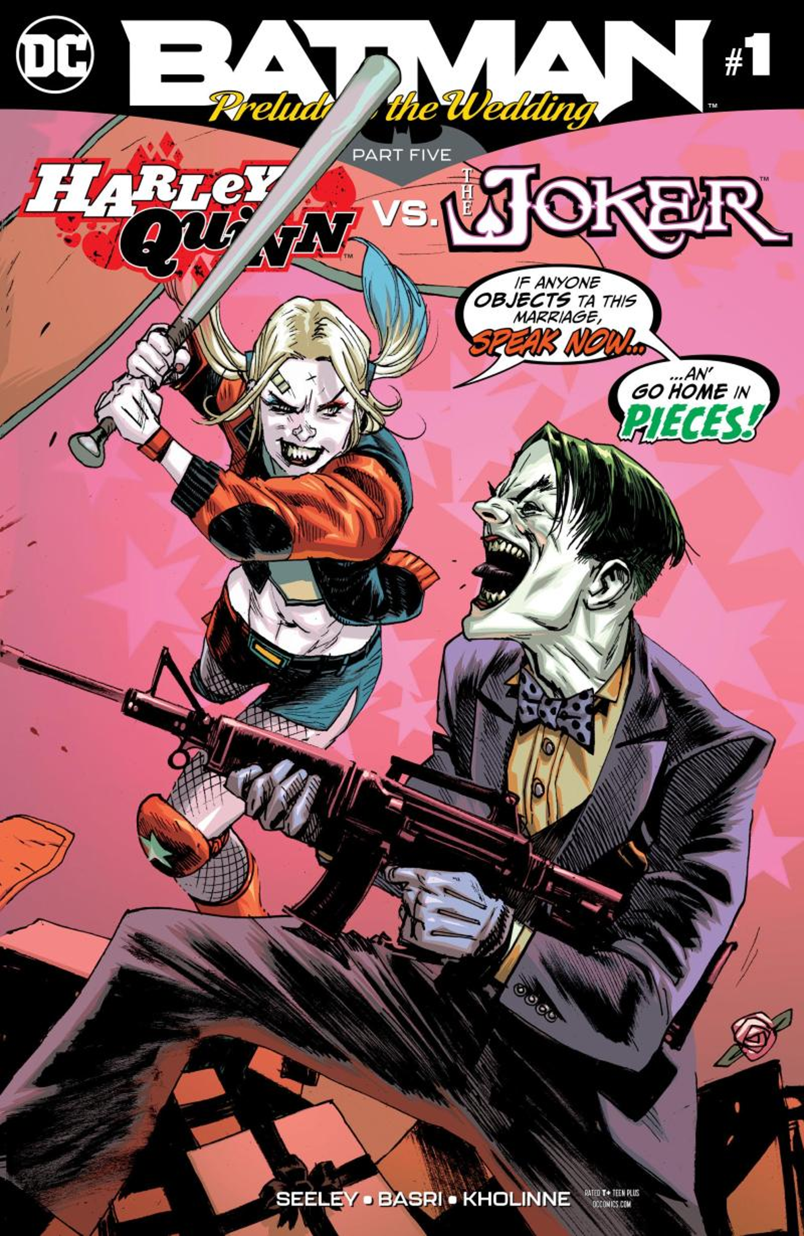 Illustration for article titled iPrelude To The Wedding/i ends on a high note by focusing on love and Harley Quinn