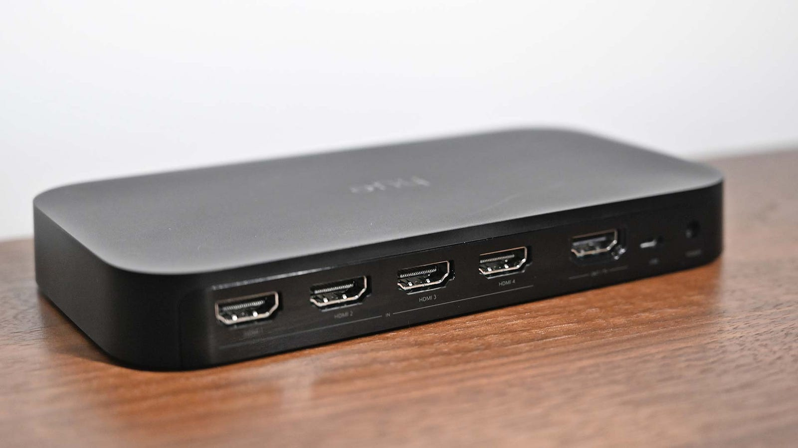 The Play Sync Box has four HDMI inputs and one HDMI out port.