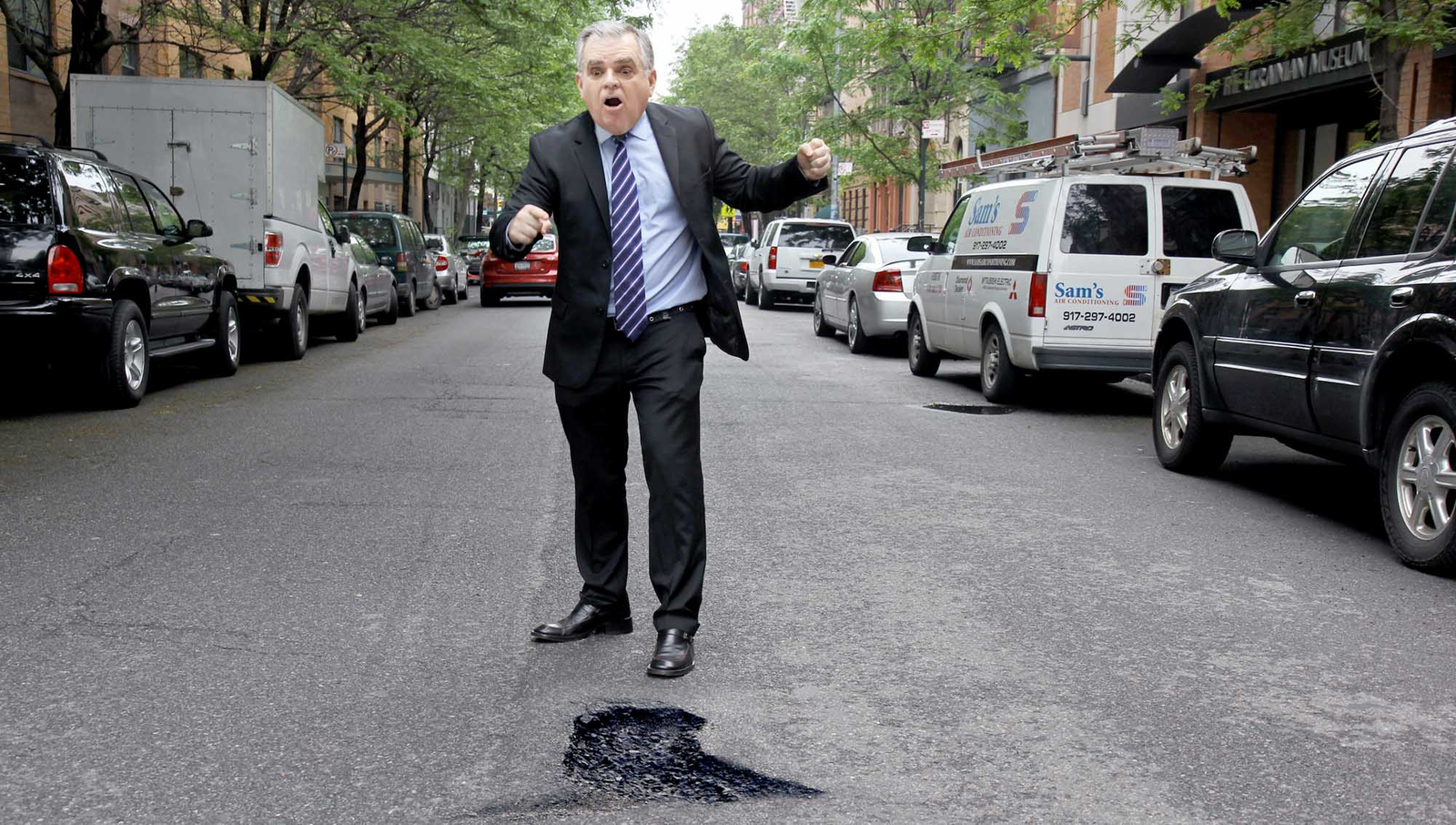 Secretary Of Transportation Flips Out On Pothole In Baltimore