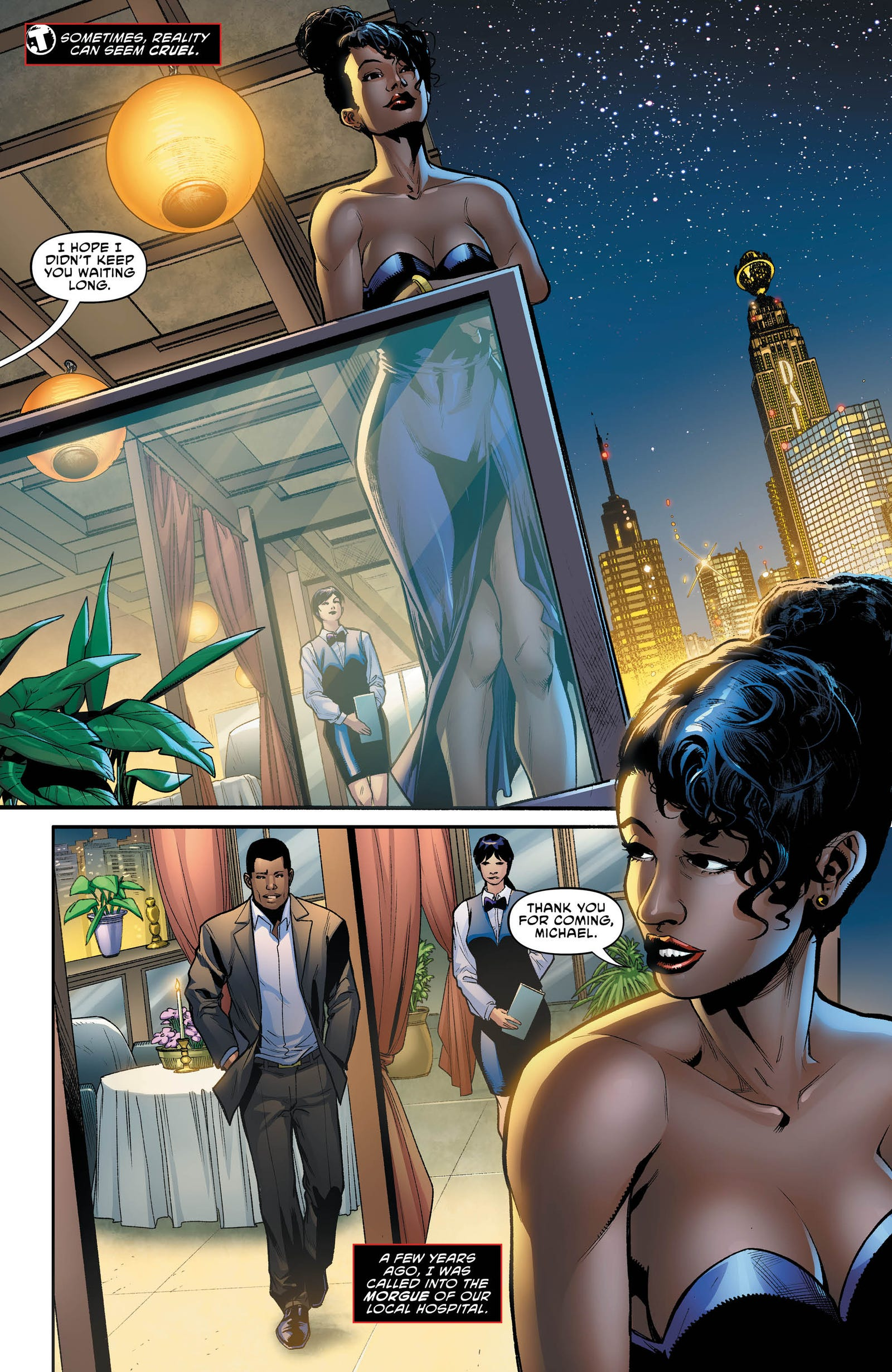 Illustration for article titled Gene Luen Yang takes over emThe Terrifics /emin this exclusive preview