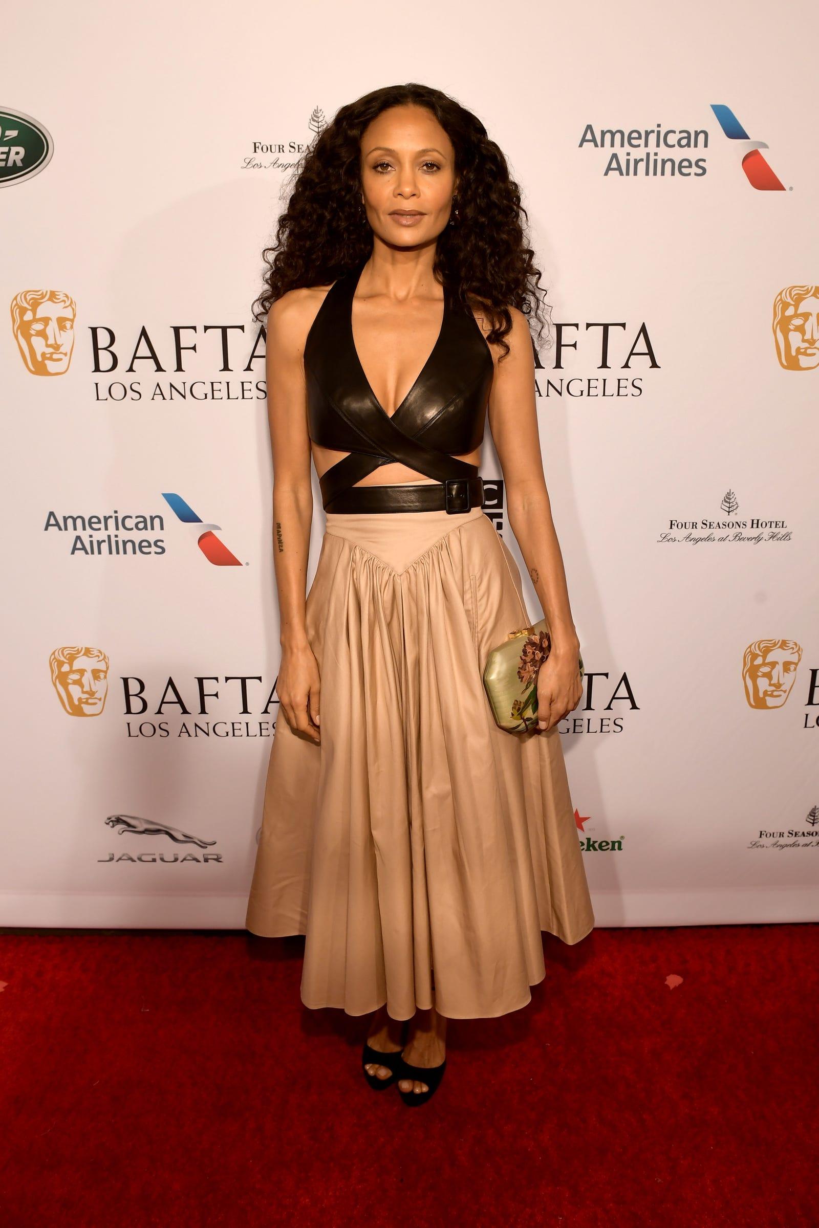 Thandie Newton in Azzedine Alaia