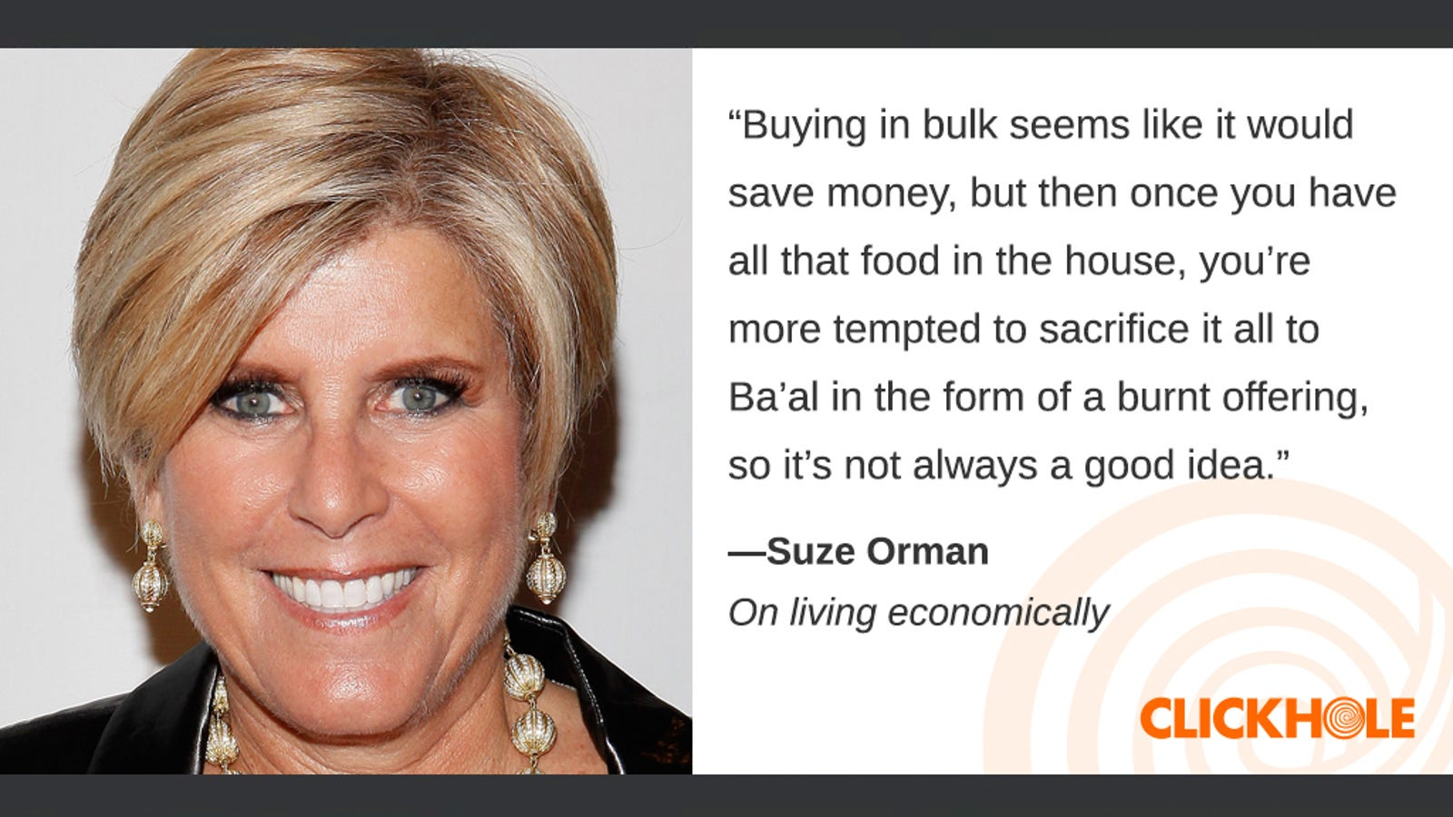Illustration for article titled Find Out What Suze Orman, Adam Silver, And Bill de Blasio Have To Sayem/em