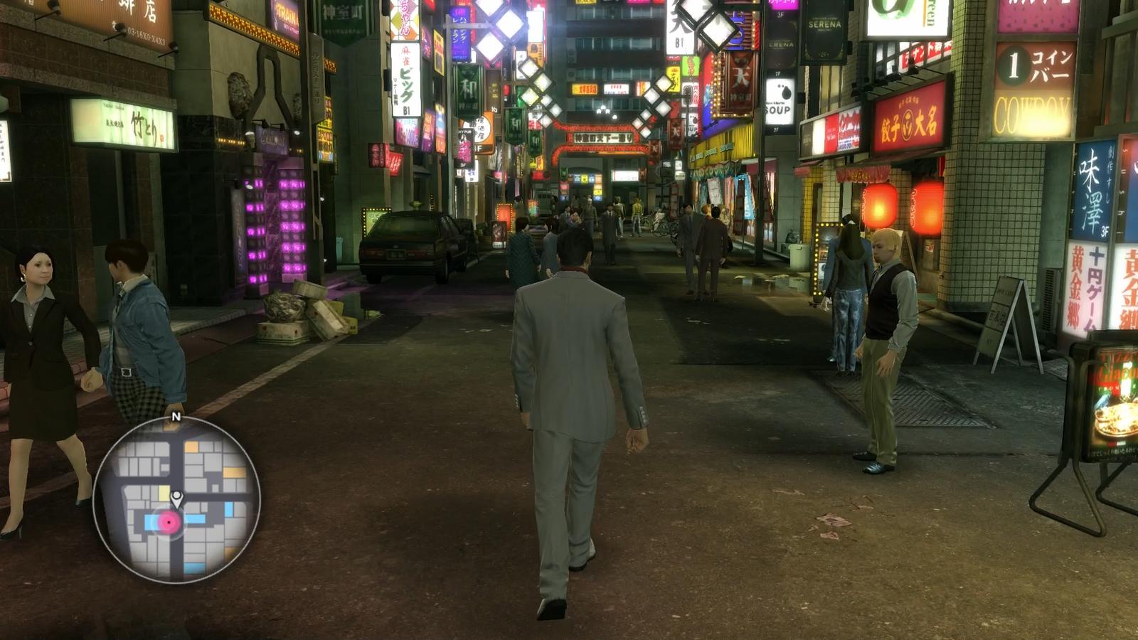 Tenkaichi Street in 1988 (Yakuza Kiwami)