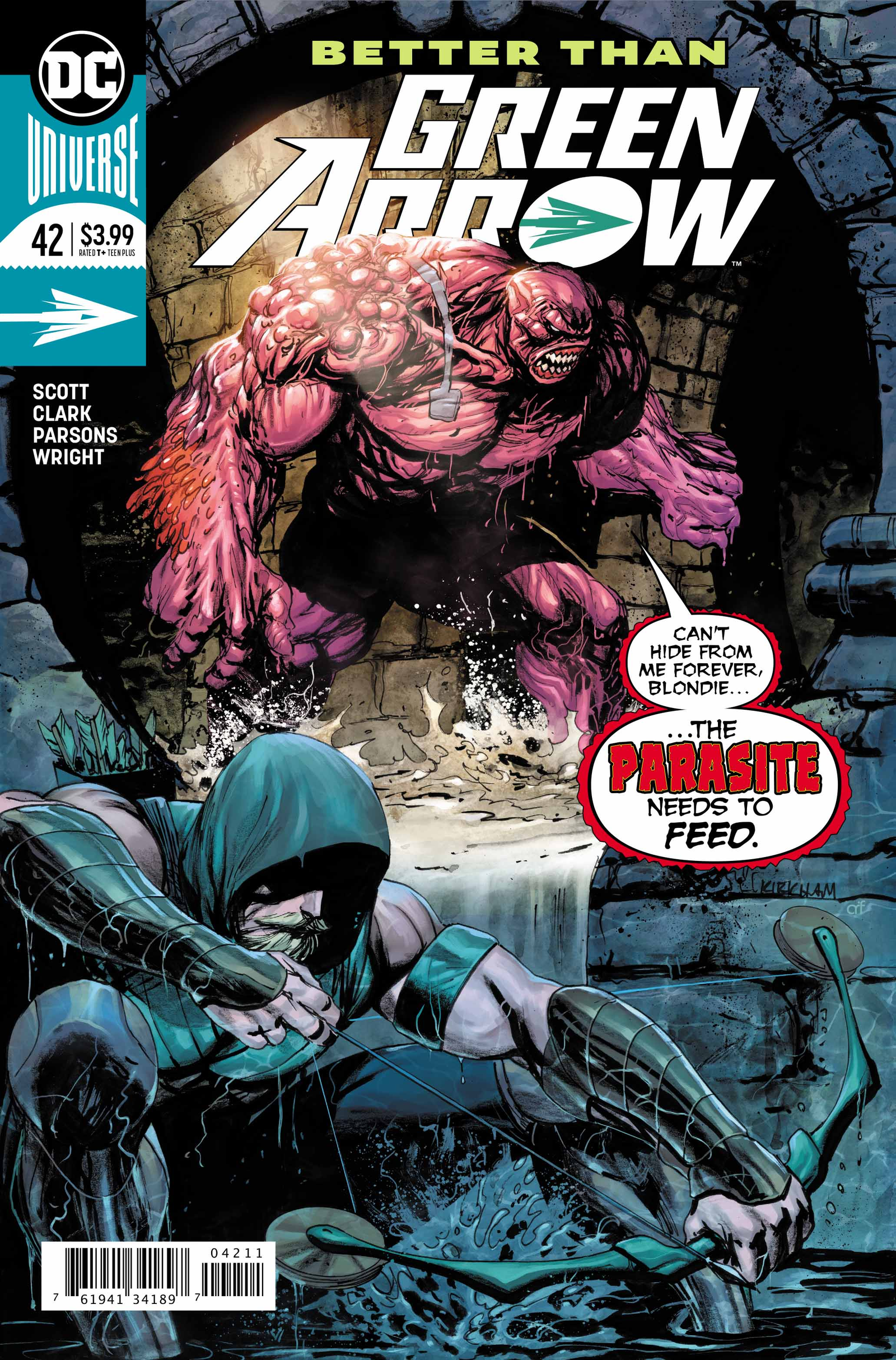 Cover by Tyler Kirkham and Arif Prianto