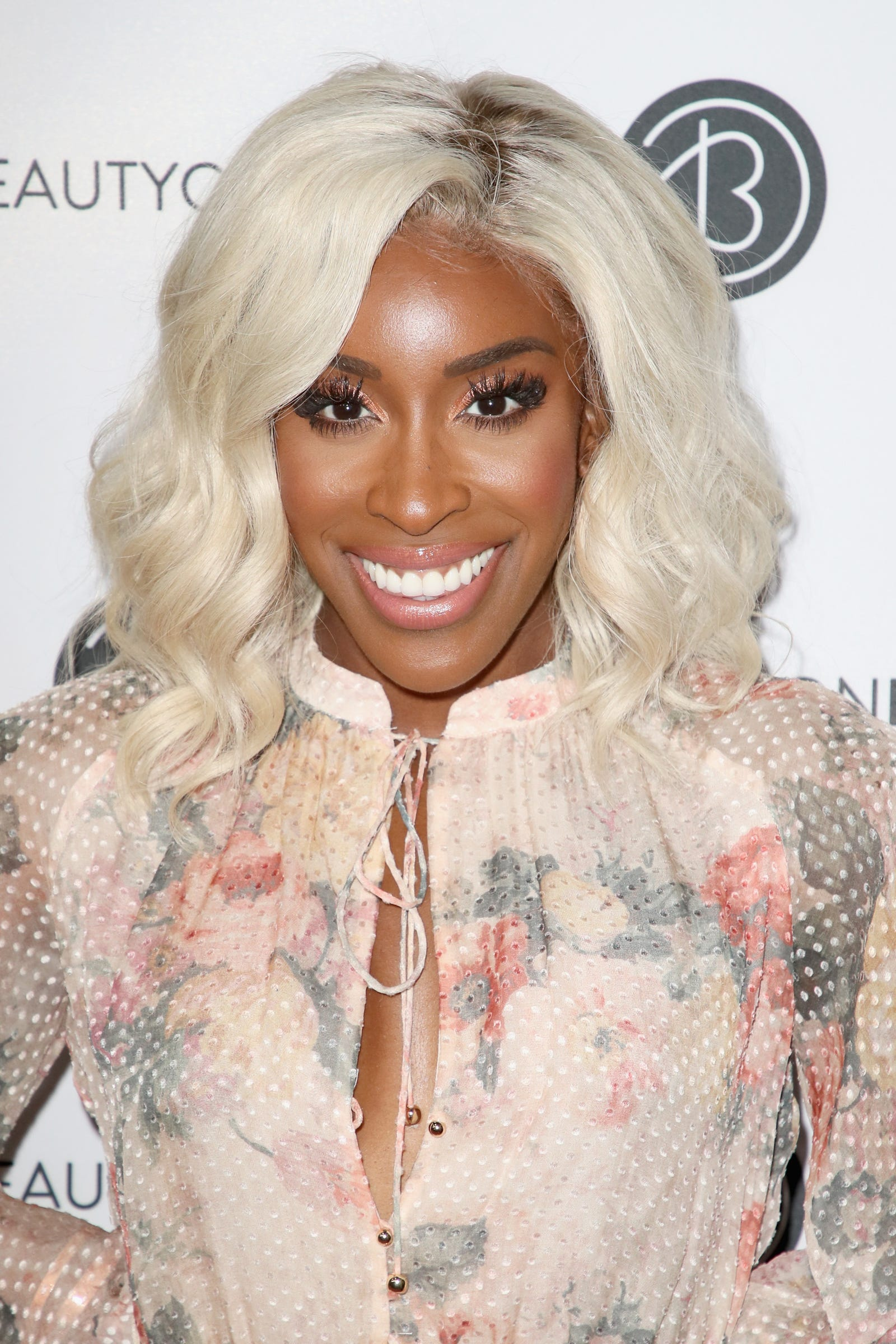 Jackie Aina attends the Beautycon Festival LA 2018 at the Los Angeles Convention Center on July 14, 2018 in Los Angeles, California.