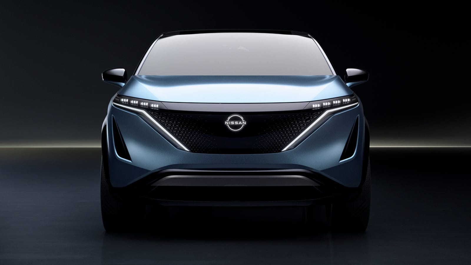 Illustration for article titled The Nissan Ariya Concept Looks Almost Bland Enough To Go Into Production