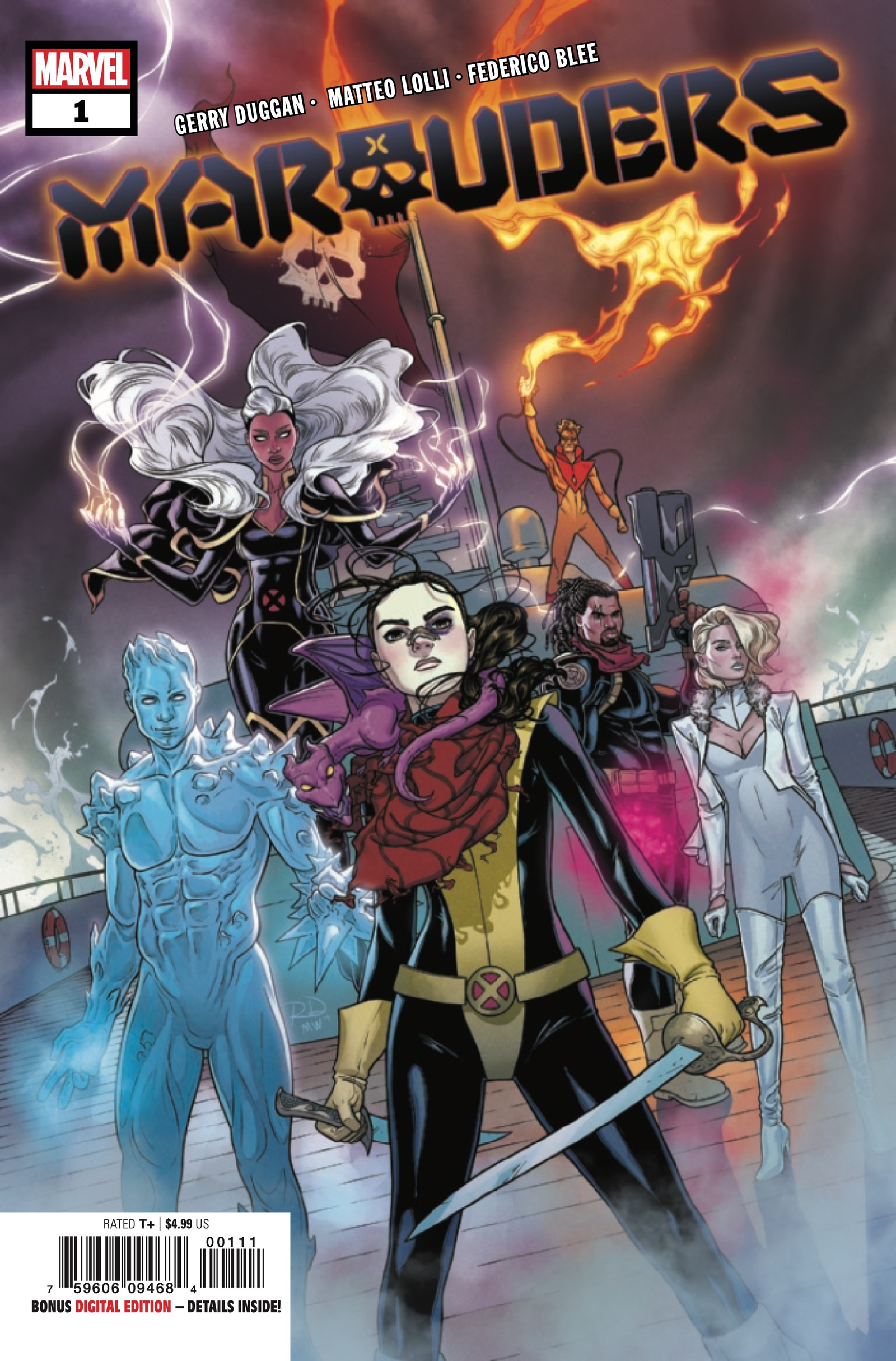 Cover by Russell Dauterman and Matthew Wilson