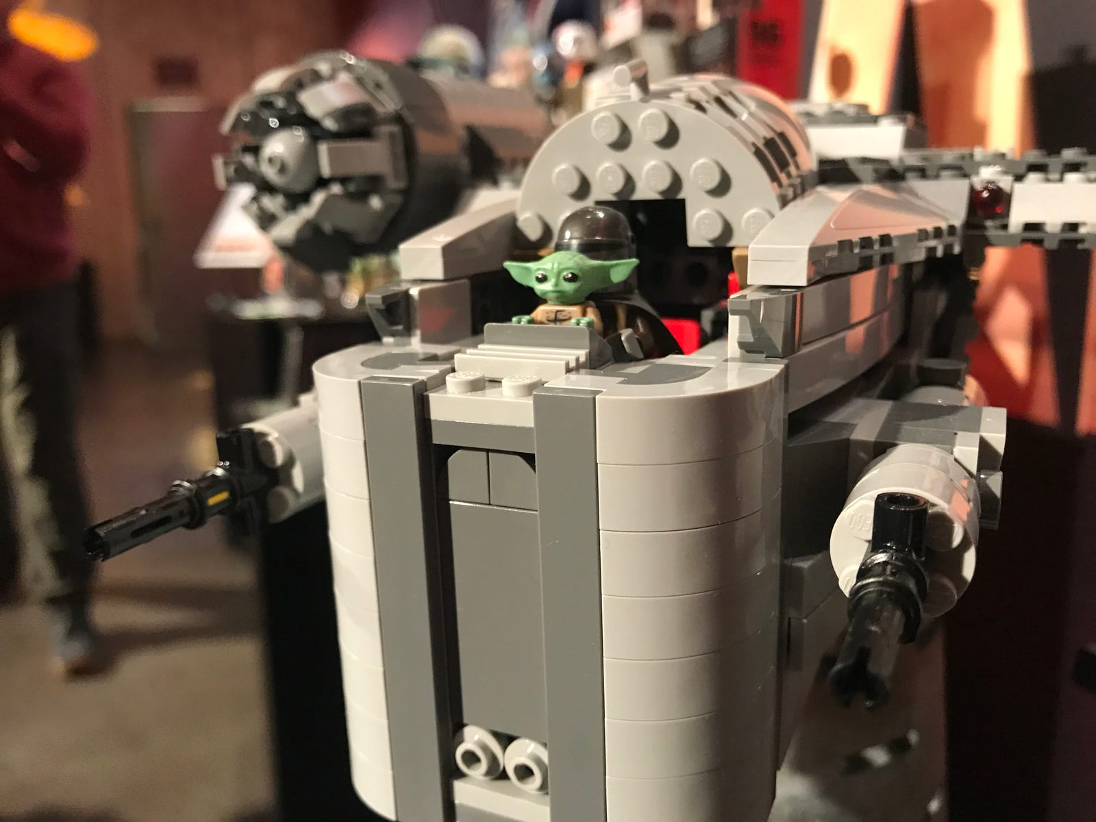 Baby Yoda is front and center in Lego's Razor Crest set.
