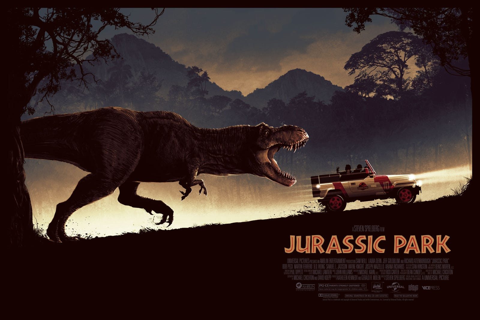 Matt Ferguson's Jurassic Park. A variant is also available.