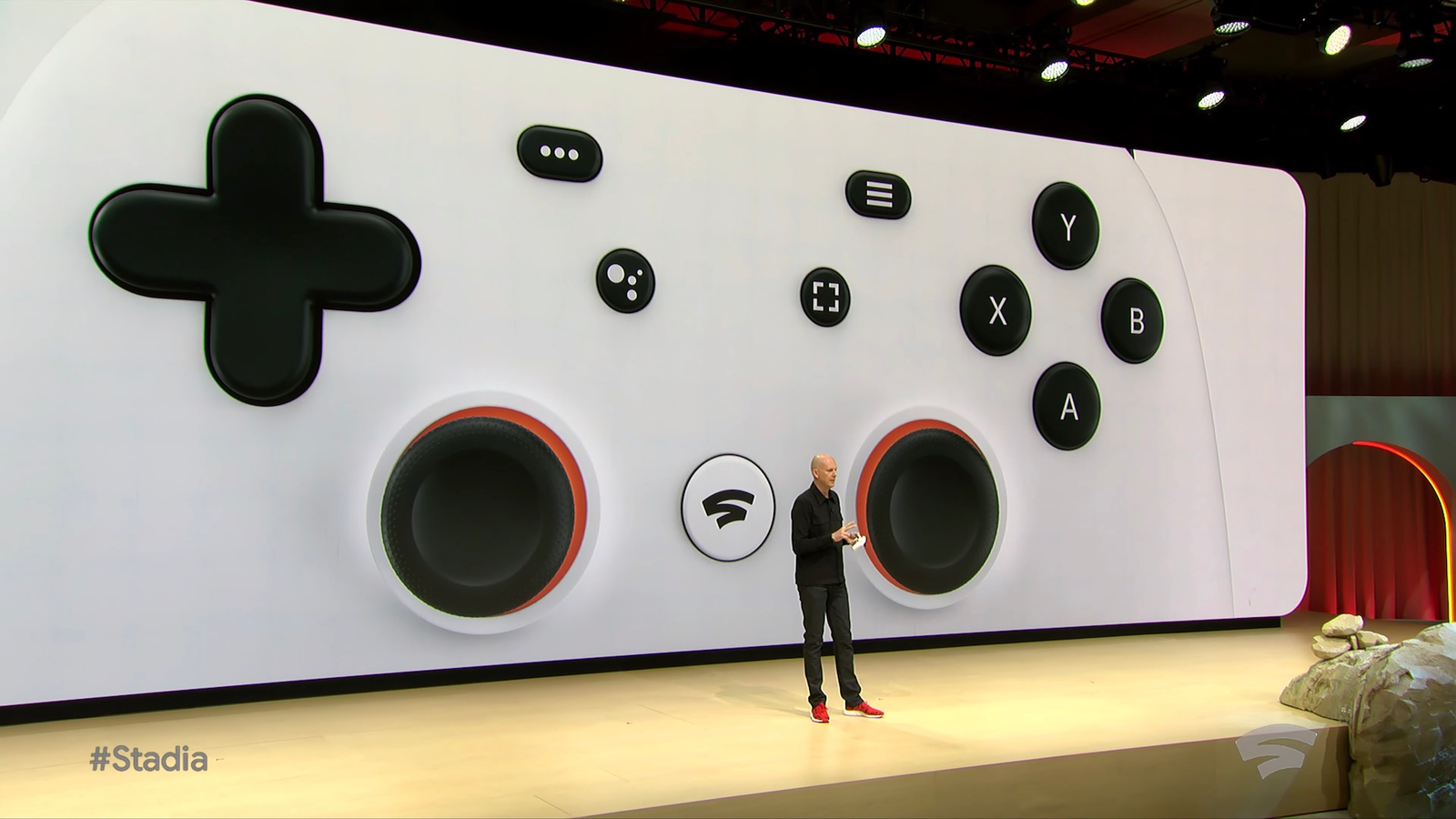 Illustration for article titled Un vistazo a Stadia Controller, el mando de Google que no necesita consola