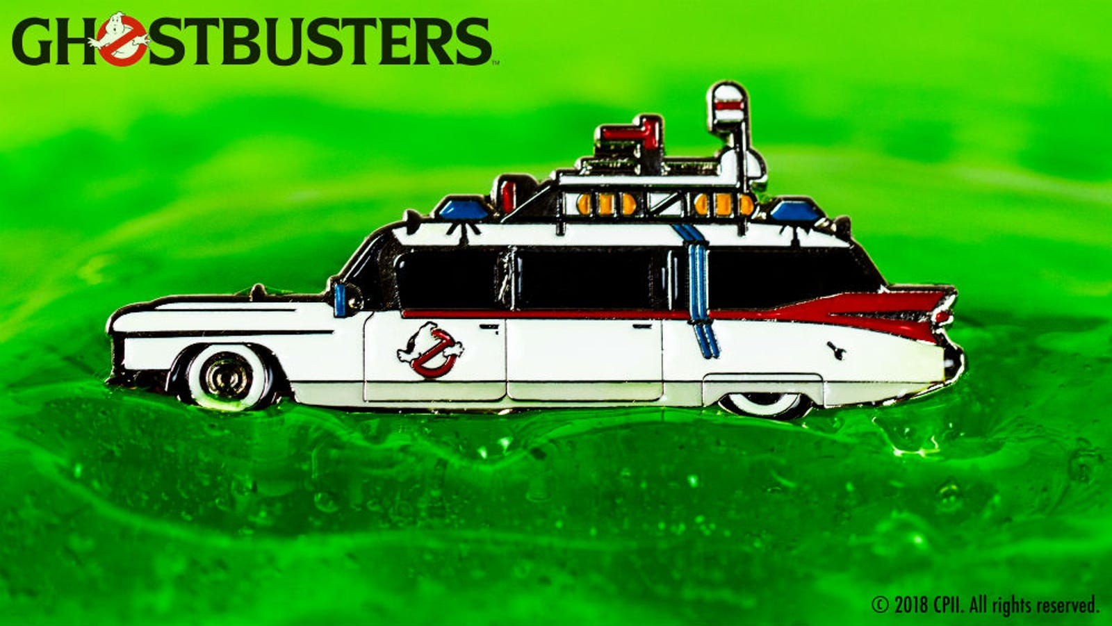 Ecto-1 pin by Tom Whalen