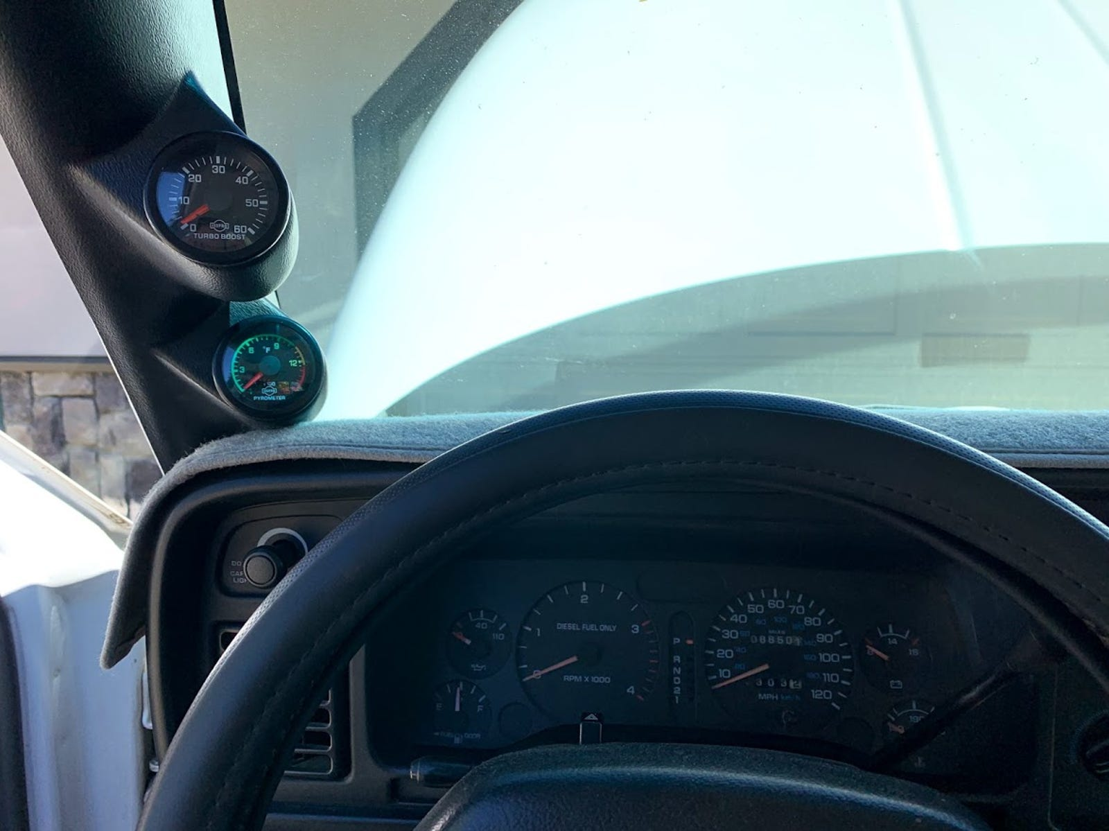 Isspro Boost and EGT gauges. All I need at this point.