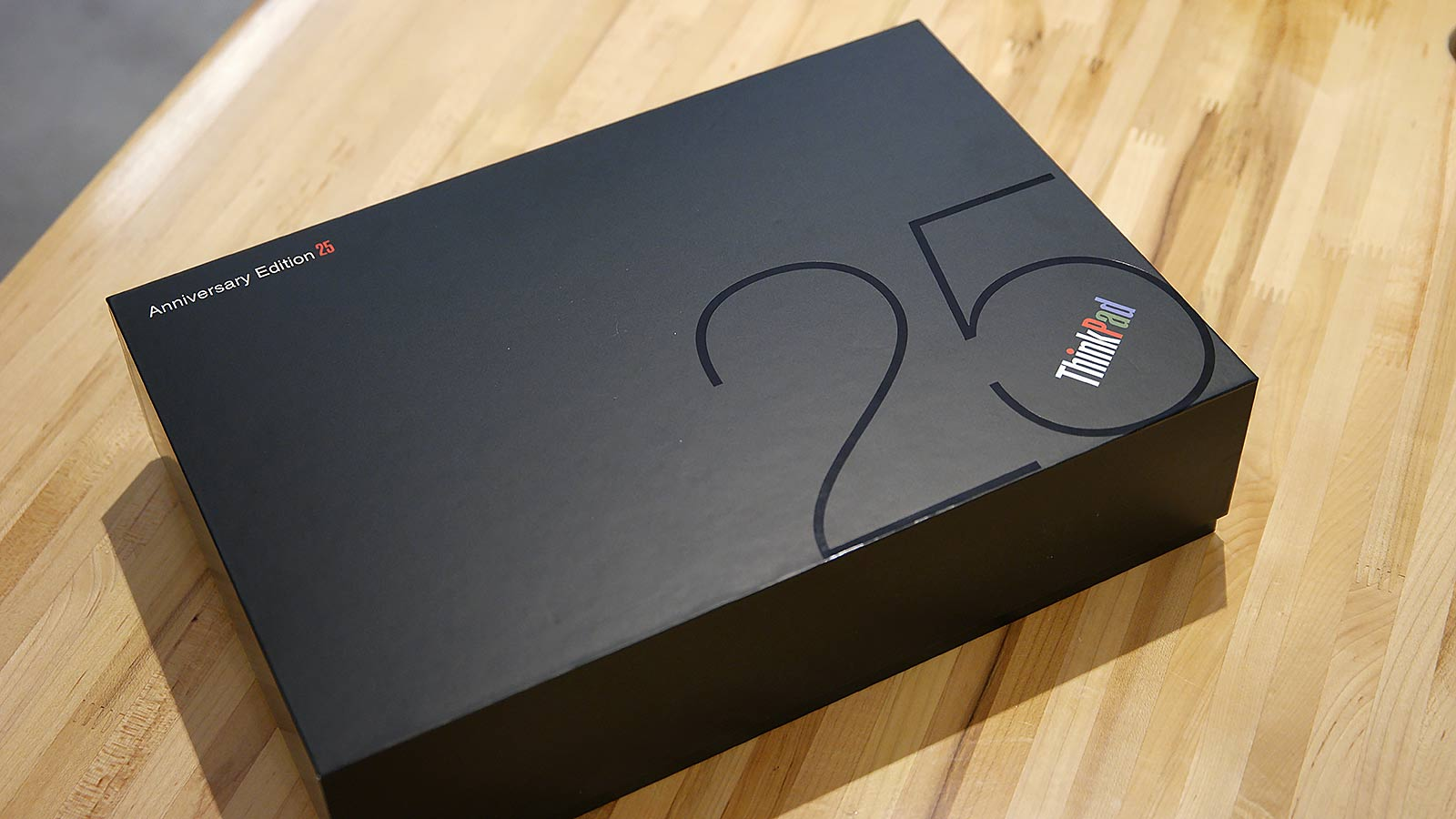 The box for the ThinkPad 25 might be the best thing about the whole package.