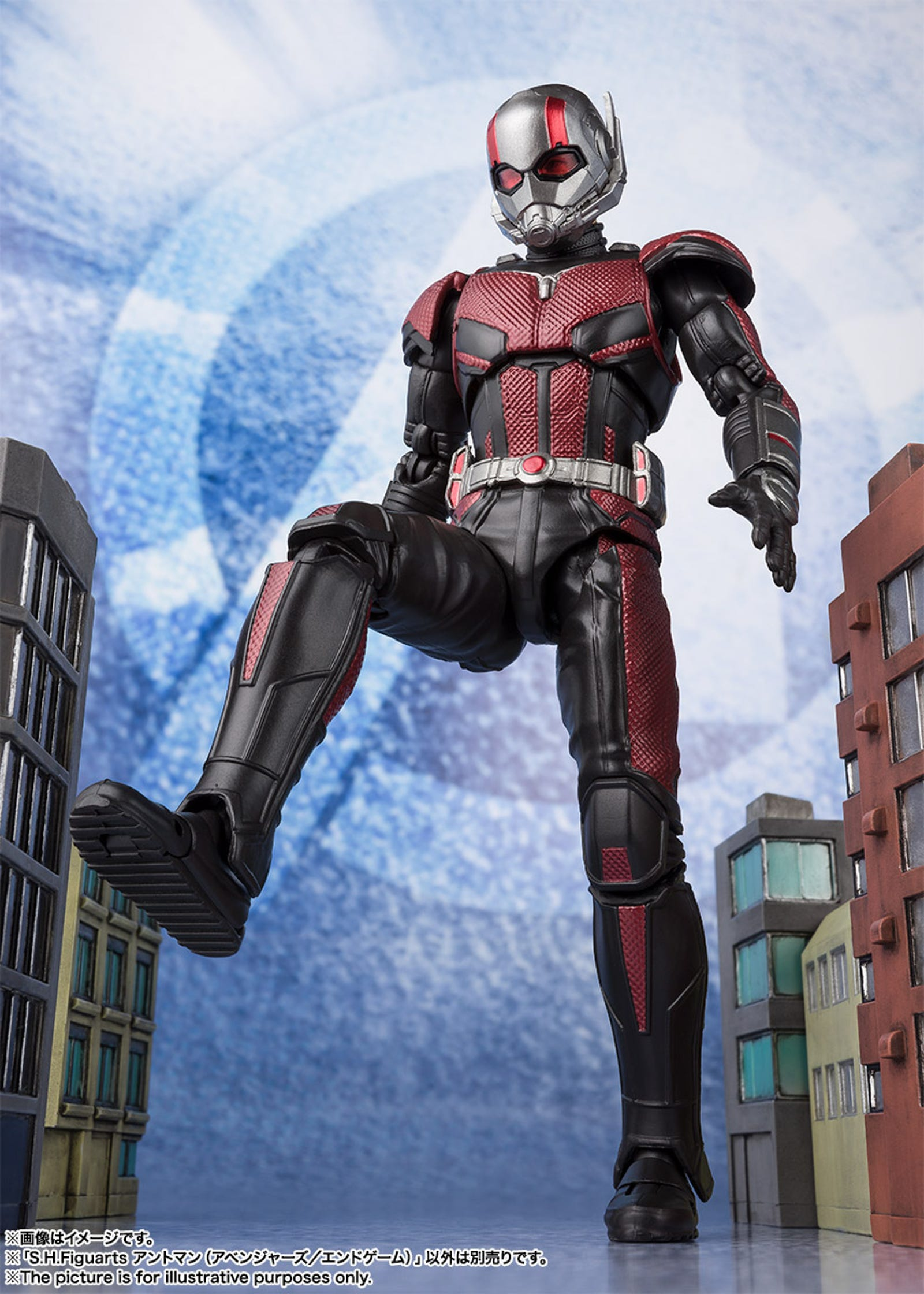Lastly, Ant-Man is weirdly a few dollars less, at around $56. And it's not like it's because he's smaller. He does come with a smaller version of himself though.