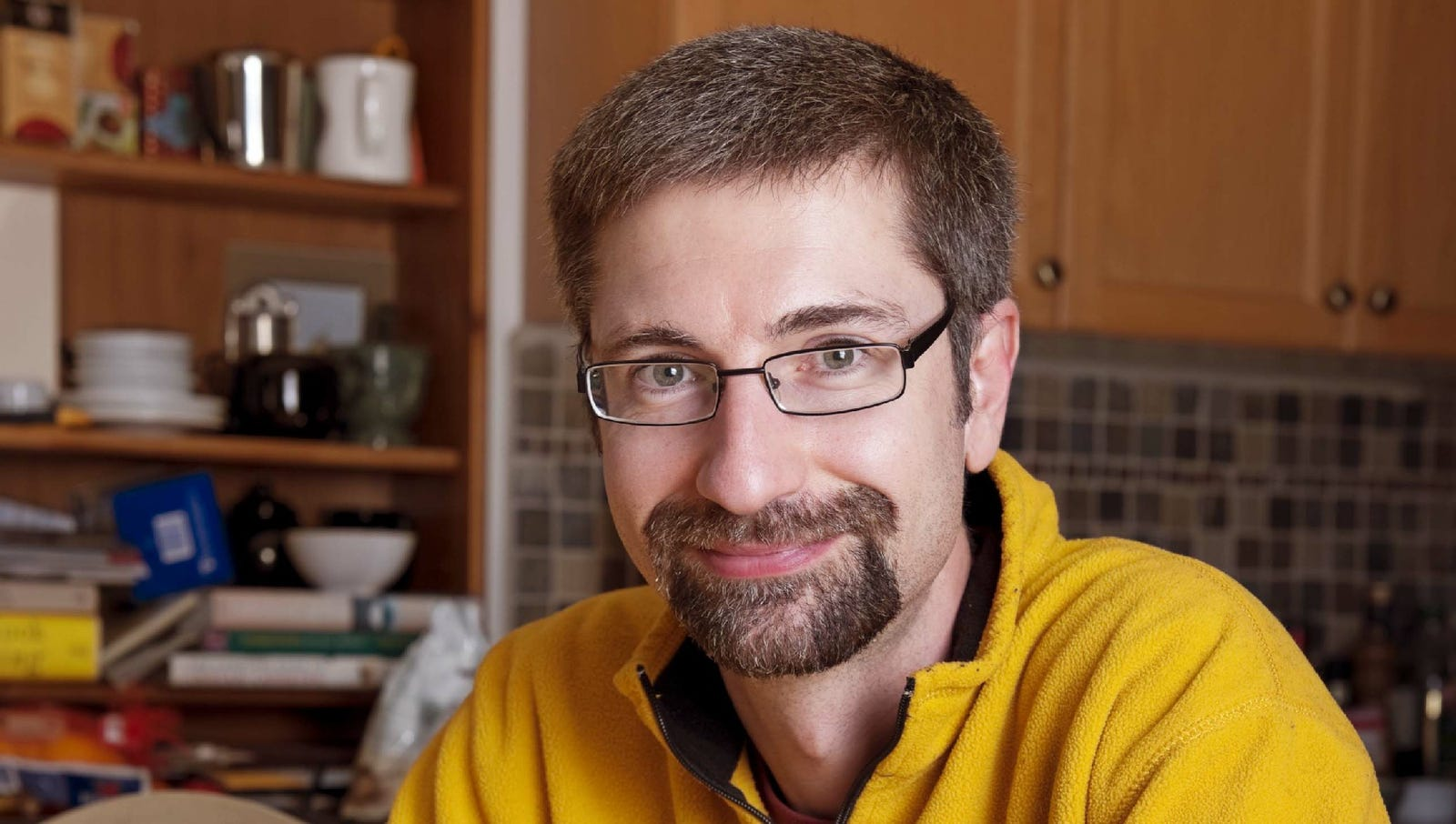 Man Has No Idea What To Do With Good Mood