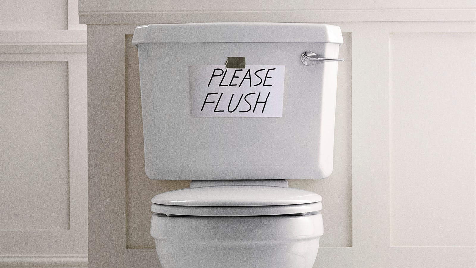 White House Toilet Doesn't Know If It Can Handle Another 4 Years Of Trump