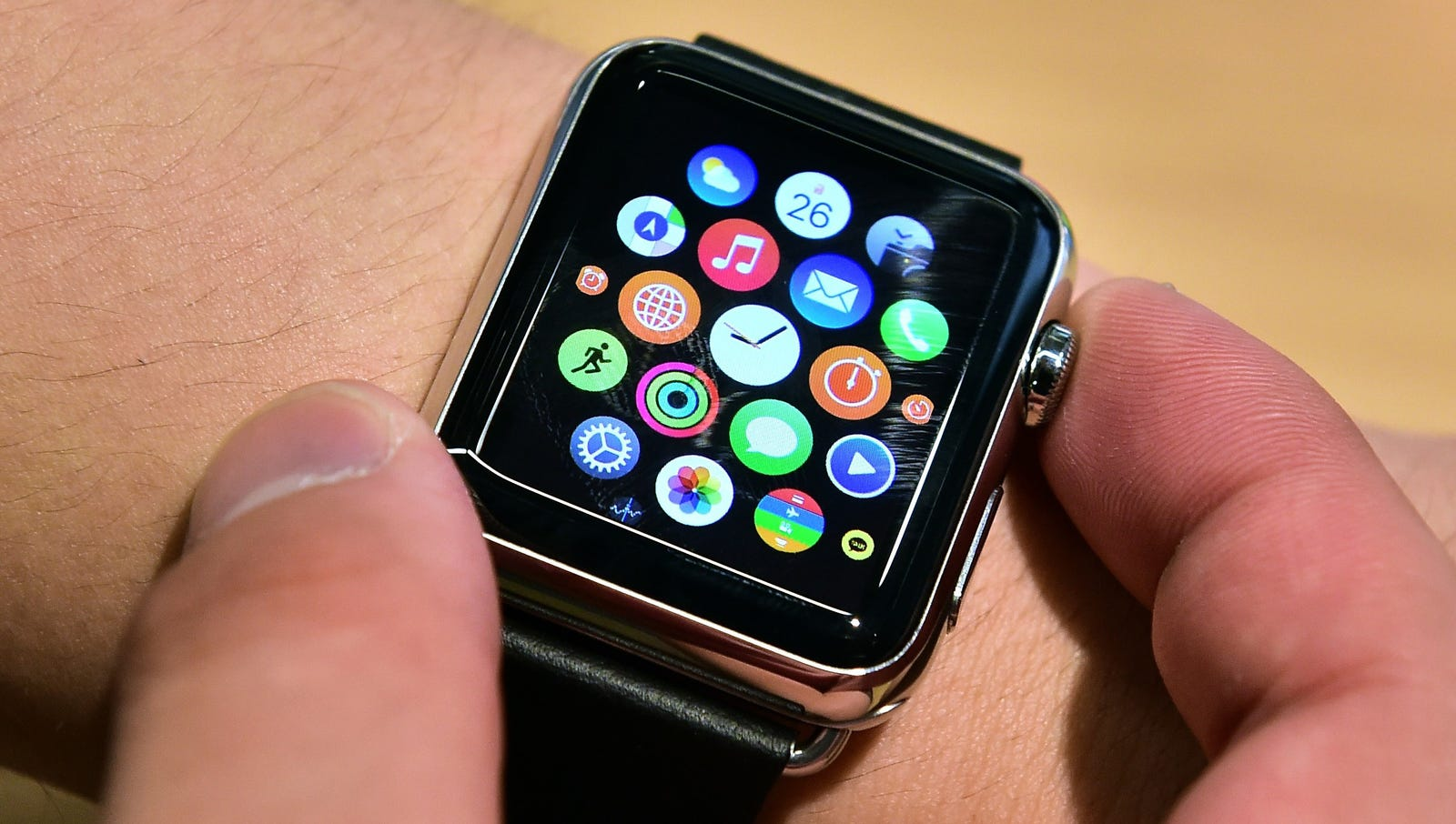 Apple Watch: Apple's promotional campaign warned consumers that if the watch wasn't a resounding success, they'd have no choice but to make a new device that would burrow deep into the user's brainstem or internal organs.