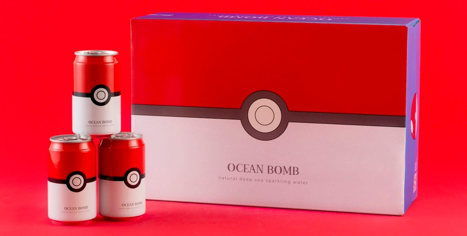 Ocean Bomb x Pokemon