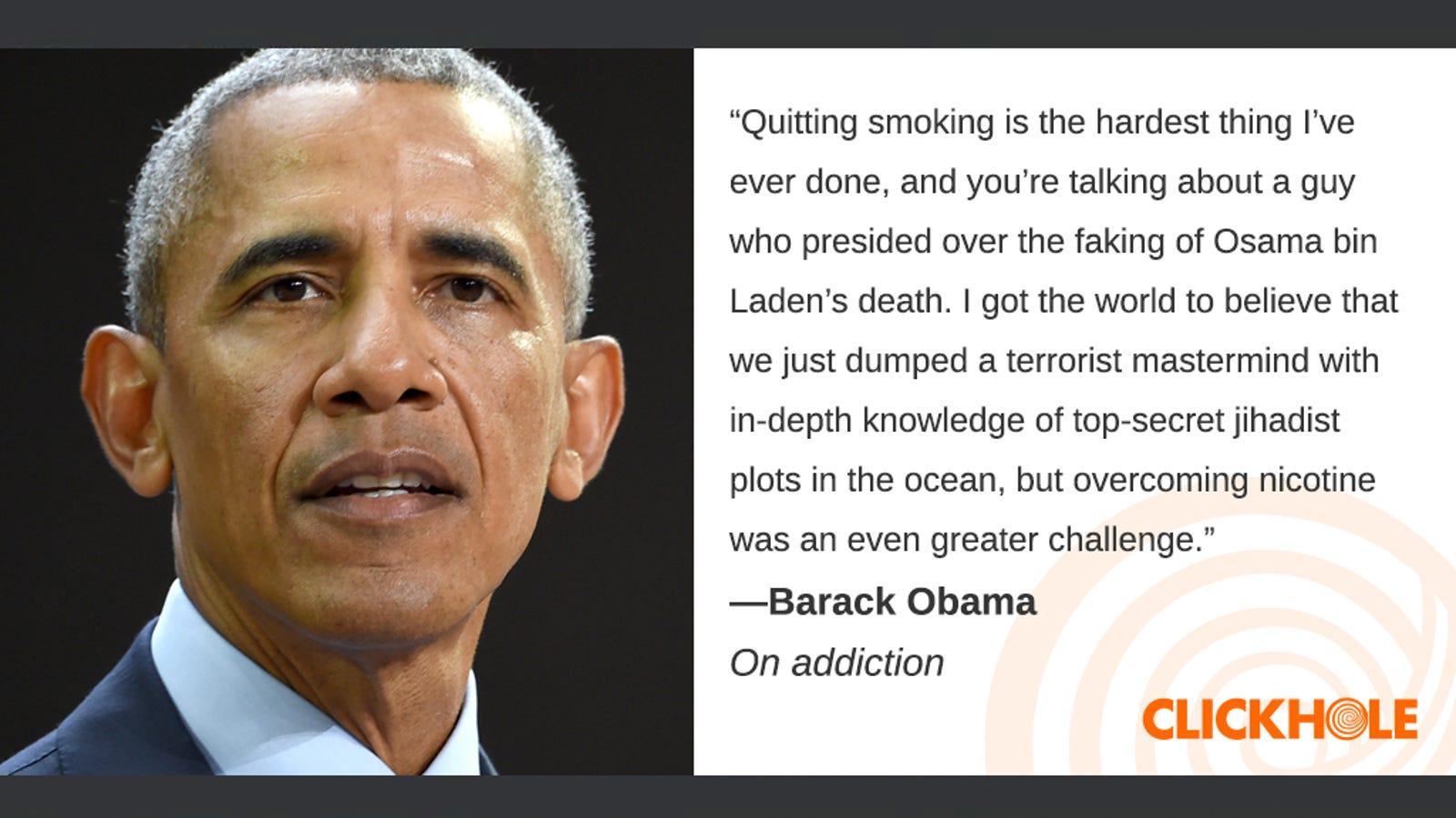 Illustration for article titled Find Out What Barack Obama, em/emMichael Caine, And em/emRobert Mueller Have To Sayem/em