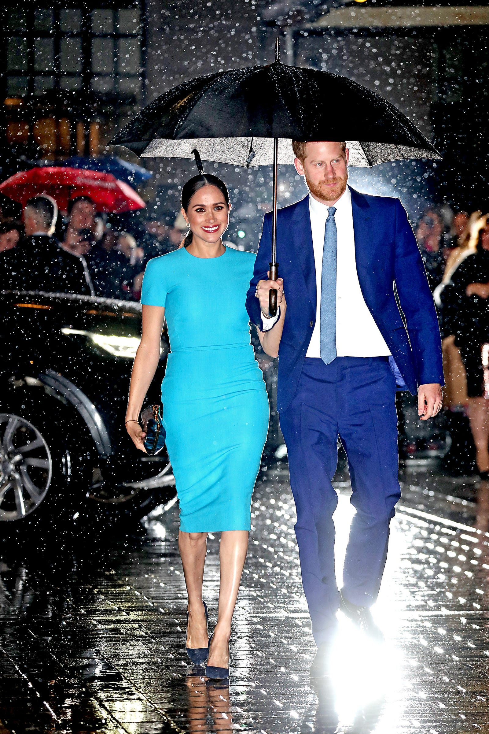 Prince Harry, Duke of Sussex and Meghan, Duchess of Sussex attend The Endeavour Fund Awards at Mansion House on March 05, 2020, in London, England.