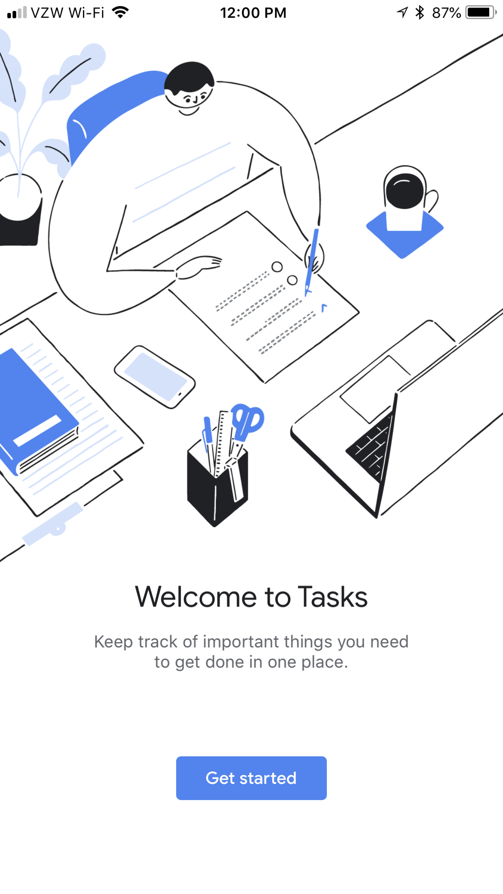Hello to you too, Google Tasks.