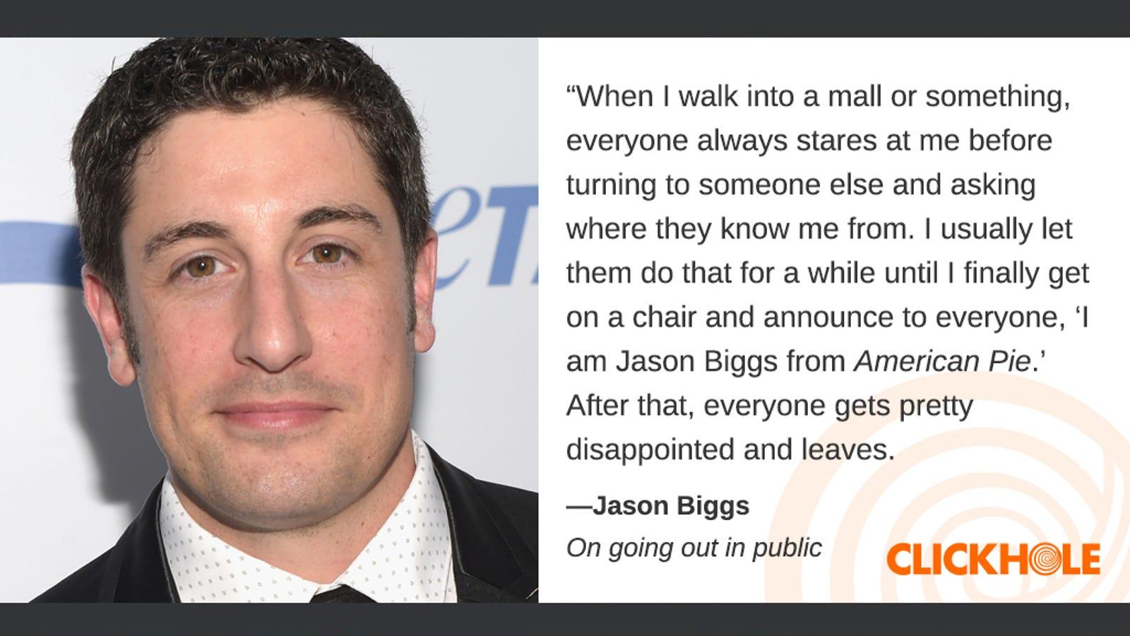 Illustration for article titled Find Out What Jason Biggs, em/emMark Zuckerberg, And em/emBernie Sanders Have To Sayem/em
