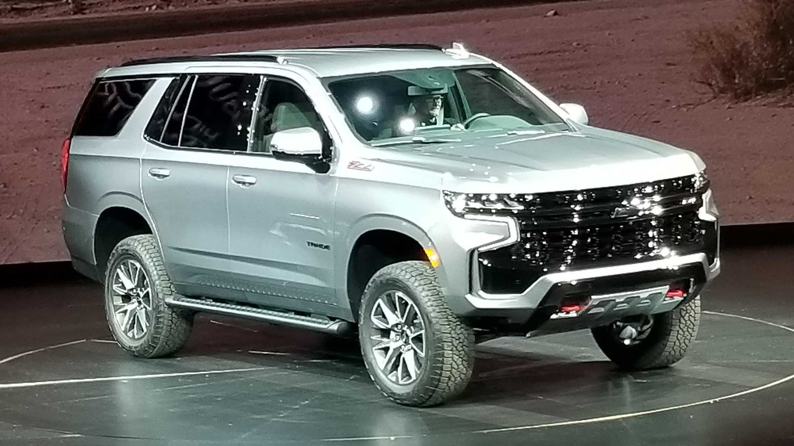 Chevy's biggest SUVs redesigned with more space, tech.