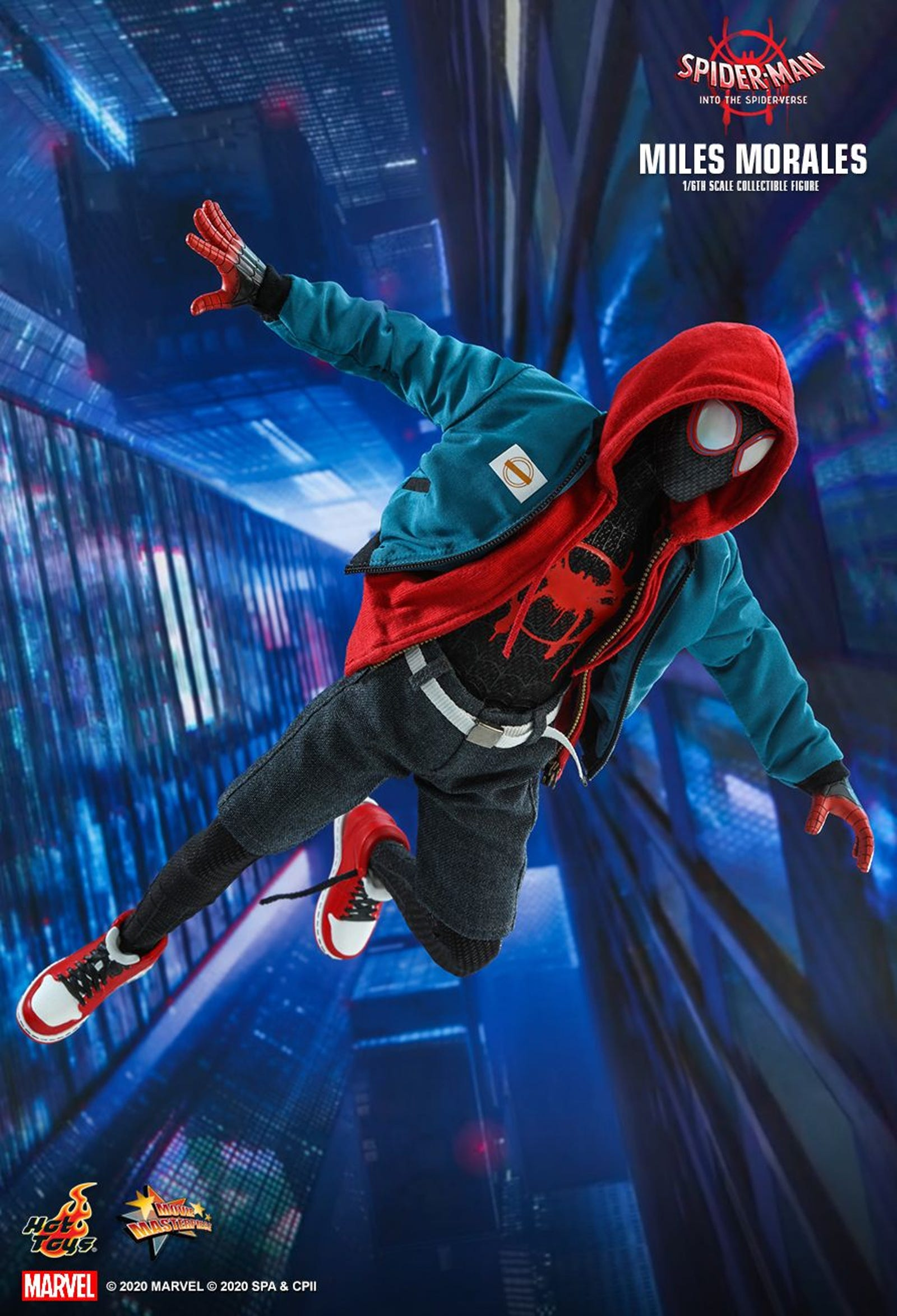 Illustration for article titled Whats Up, Danger? Hot Toys New iInto the Spider-Verse/i Figure Is Outstanding