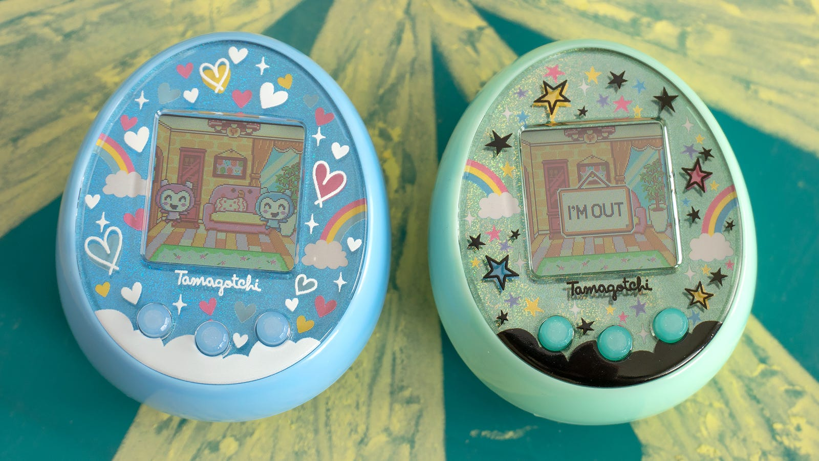 Most of the device to device interactions are temporary, with your Tamagotchi returning home after just a minute or so.