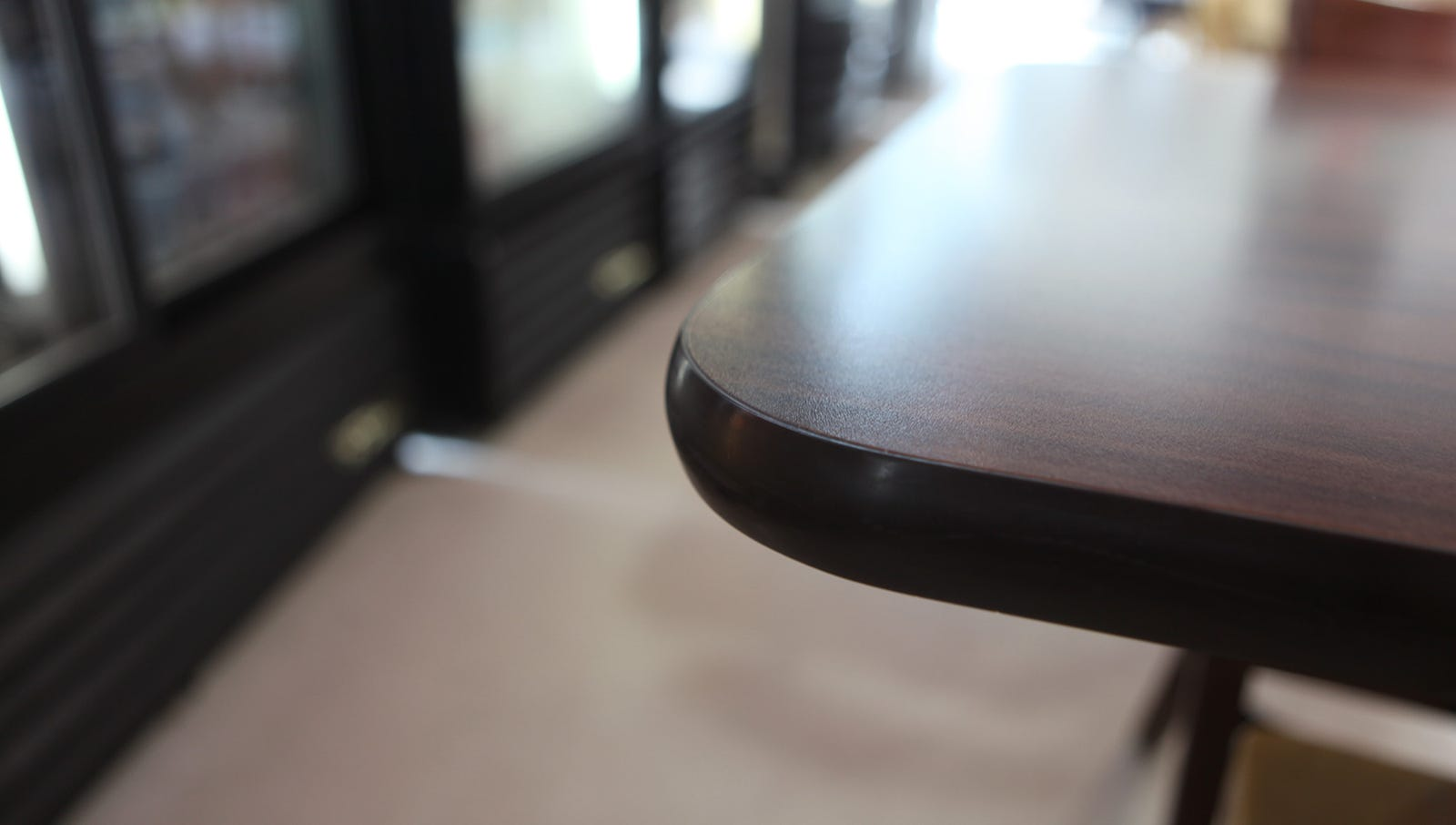Ugh! Good luck erasing this table corner from our memory.