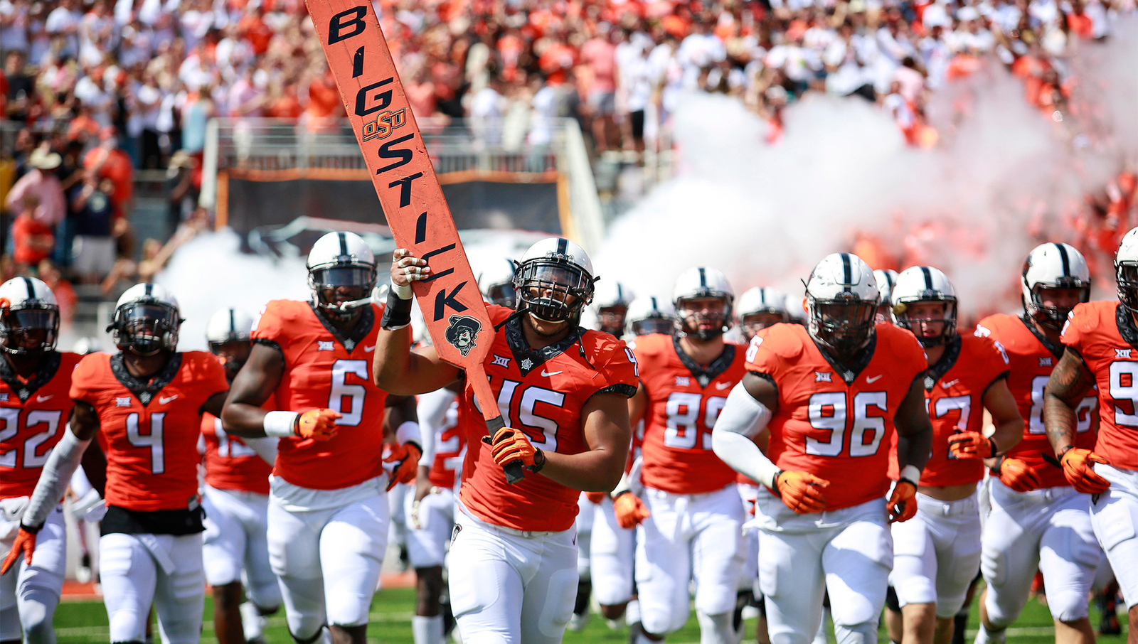 10. Oklahoma State: Every member of the Cowboys team and staff is laser-focused on the opportunity before them to move to a better university if they have a good year