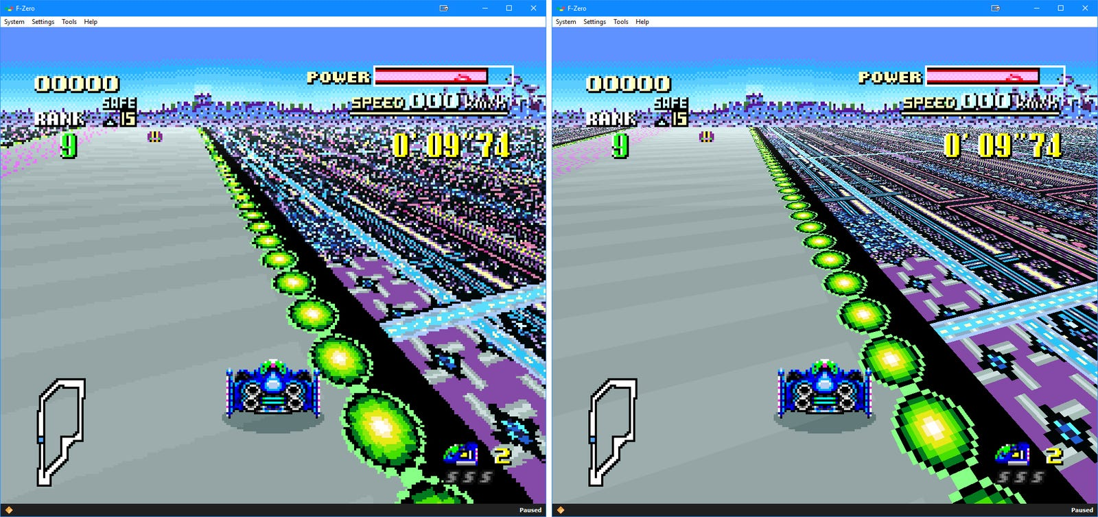 F-Zero's facelift suits it well.