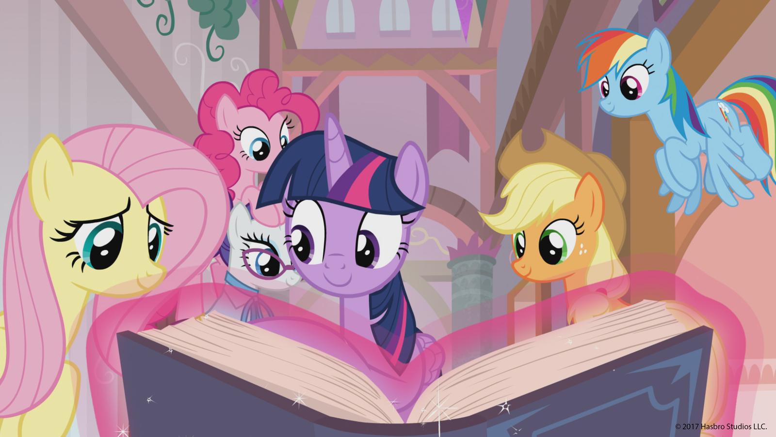 Yeah yeah, we've seen these ponies.