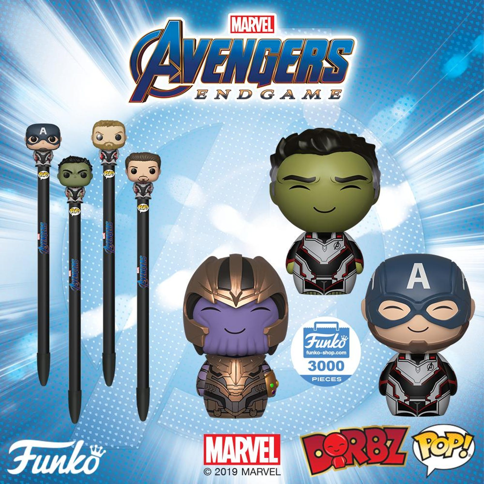 Do you like your Avengers in pen topper or cute little vinyl form?