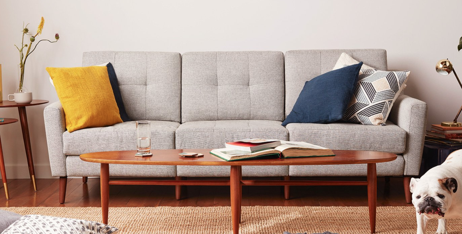 Burrow 3-seat sofa, $1195