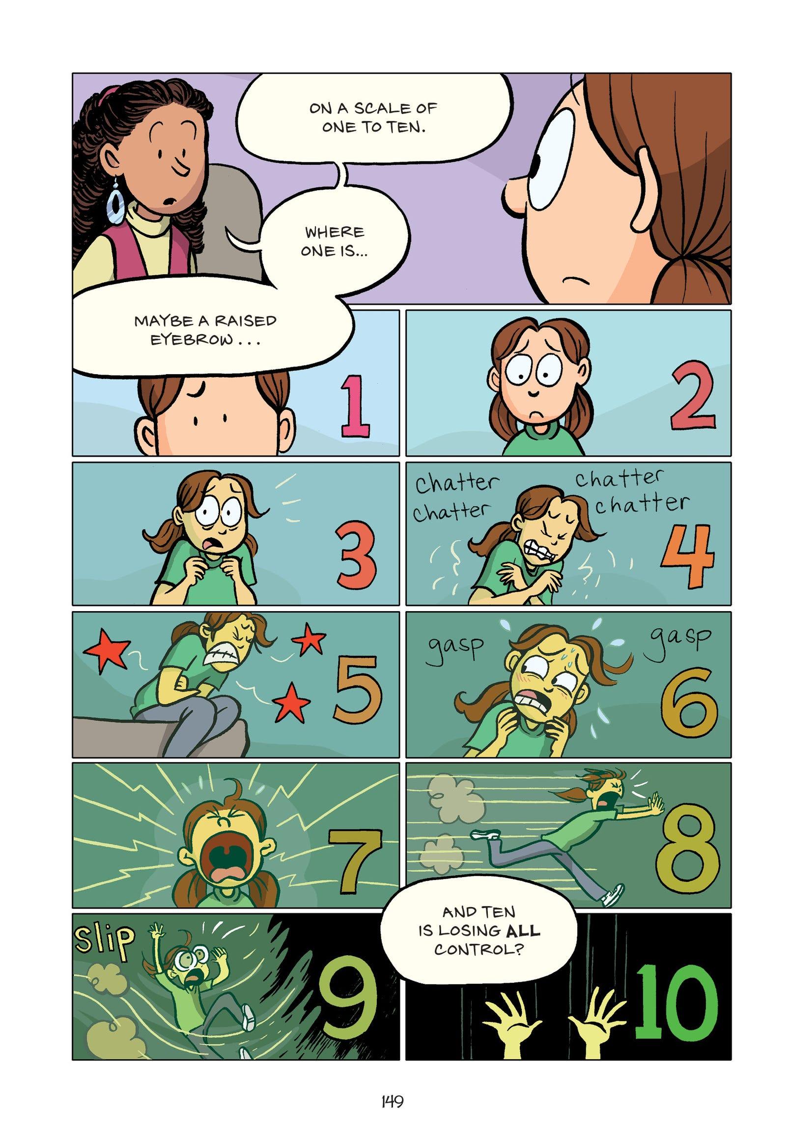 Illustration for article titled Raina Telgemeier returns to memoir to explore childhood anxiety in emGuts/em