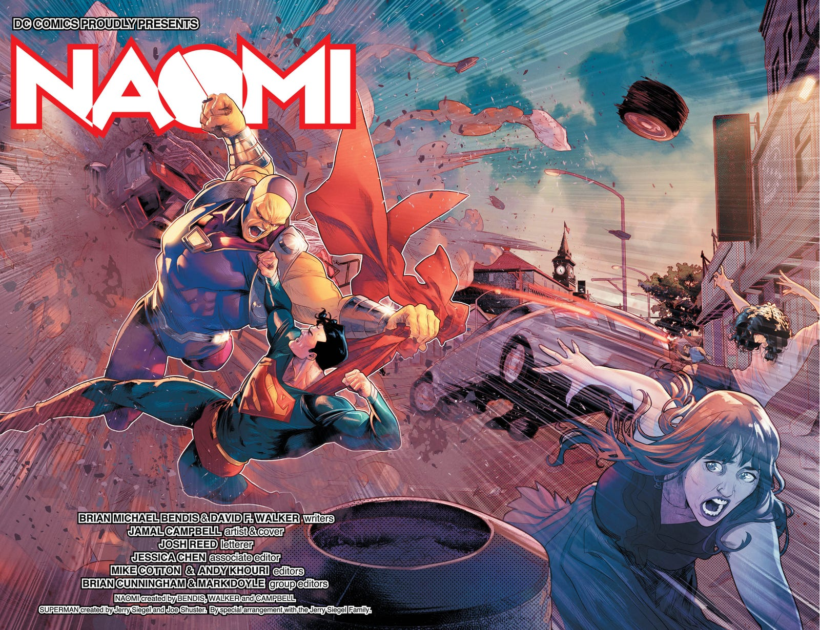 Illustration for article titled emNaomi/em is a magnificent debut for Bendis and DC's new Wonder Comics imprint
