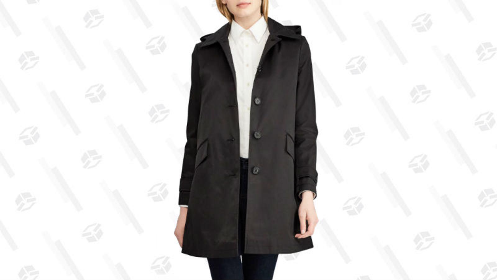 A Cute Rain Jacket Lauren by Ralph Lauren Hooded Raincoat | Nordstrom The thing about London is that it often seems like everyone there looks good, all the time. Whether it's tourists, students, or locals, everyone always looks like they just stepped out of a fashion magazine. For that reason alone, you might consider ditching a rain jacket for something more chic. Don't! Going to London without a raincoat is just asking for trouble. Pick something simple and more sleek that will go with everything, like this black raincoat. It will keep you dry and it looks cute.