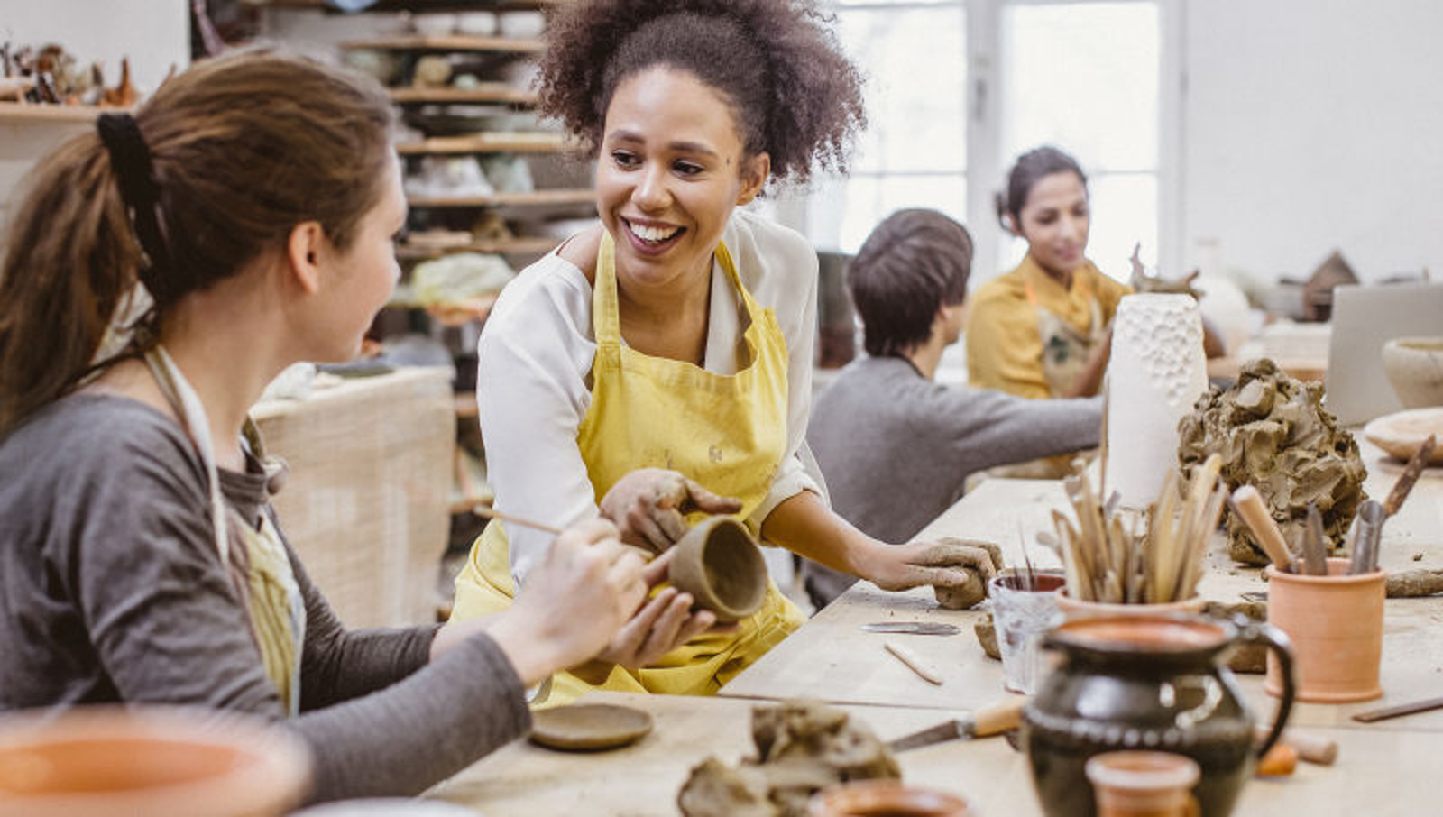 Report: Rest Of Pottery Class Knows Each Other From Previous Pottery Class