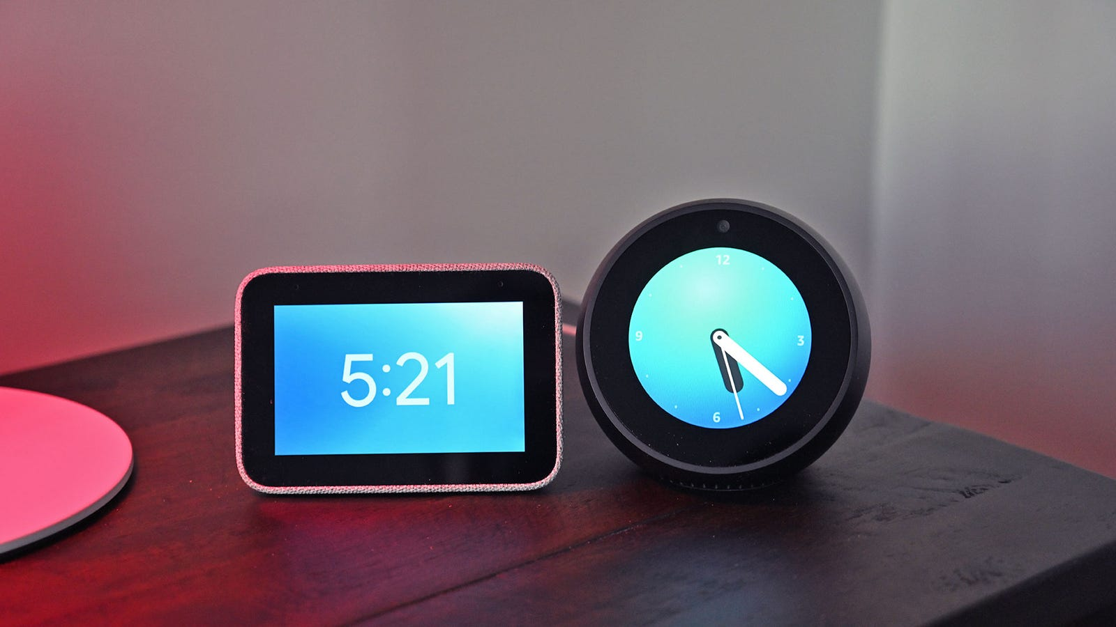 Lenovo's Smart Clock is the closest thing to an Echo Spot competitor for people already invested in the Google Home ecosystem.