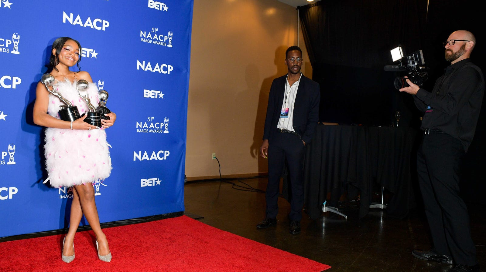 Marsai Martin at the 51st NAACP Image Awards on February 21, 2020, in Hollywood, California.