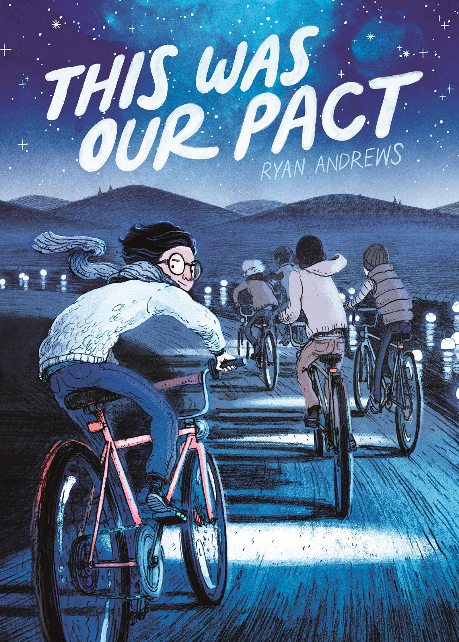 Illustration for article titled Five boys bike into the mystical unknown in this emThis Was Our Pact/em exclusive